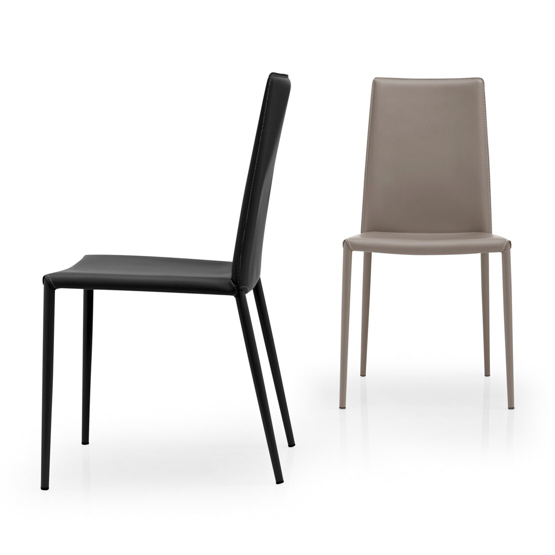 calligaris boheme side chair reviews wayfair. Black Bedroom Furniture Sets. Home Design Ideas