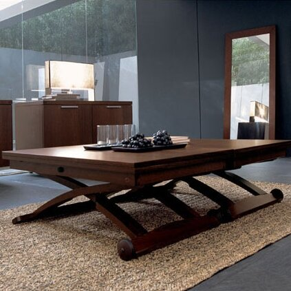Calligaris mascotte coffee table reviews wayfair - Telescoping dining room table ...