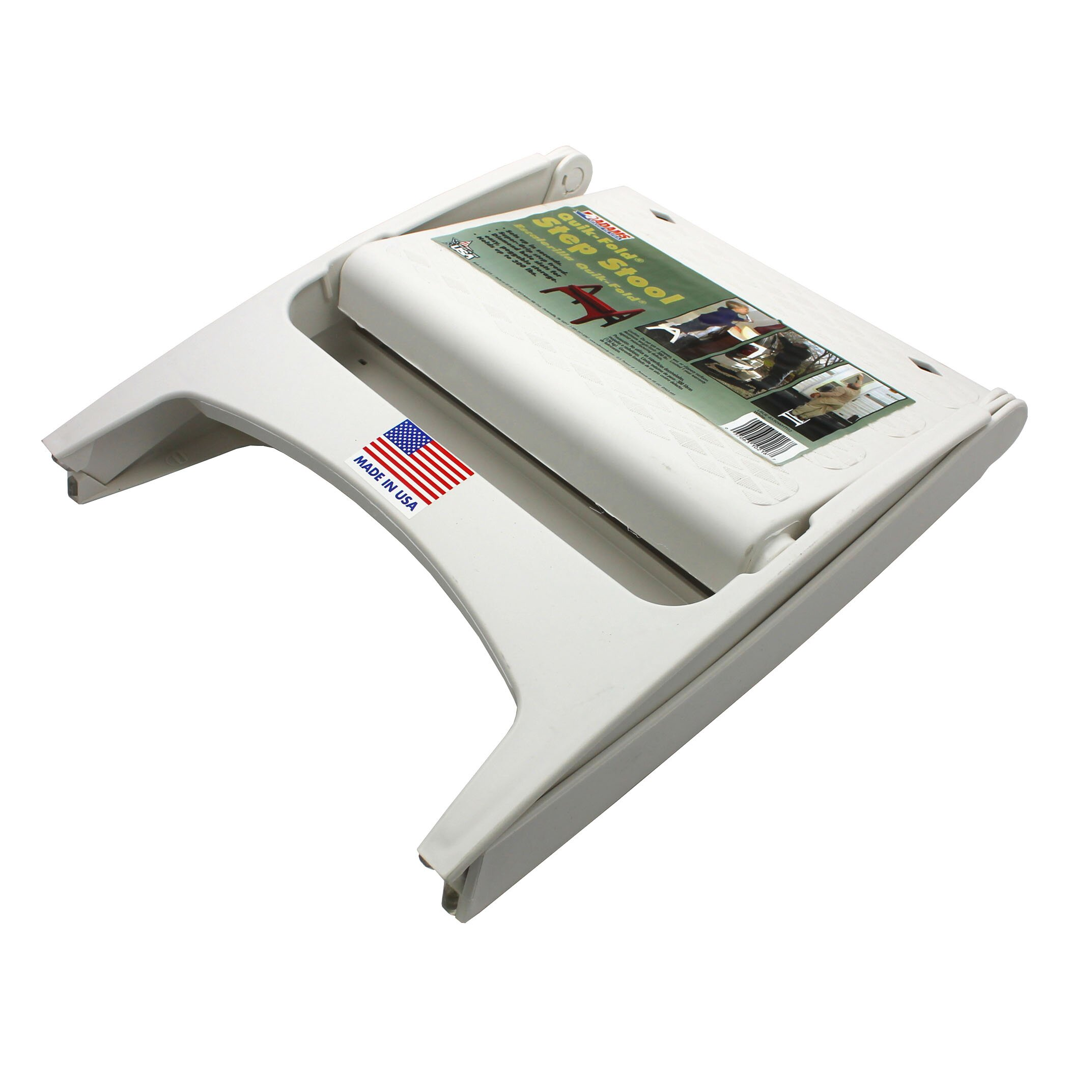 Acco Brands Inc 1 Step Plastic Step Stool With 300 Lb