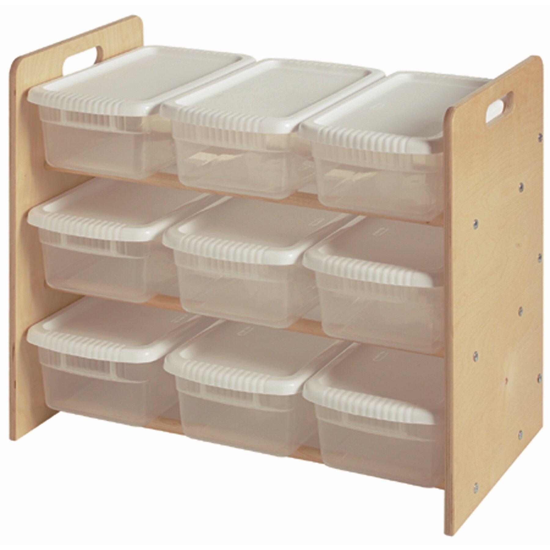 little colorado nine bin toy organizer 9 compartment cubby. Black Bedroom Furniture Sets. Home Design Ideas