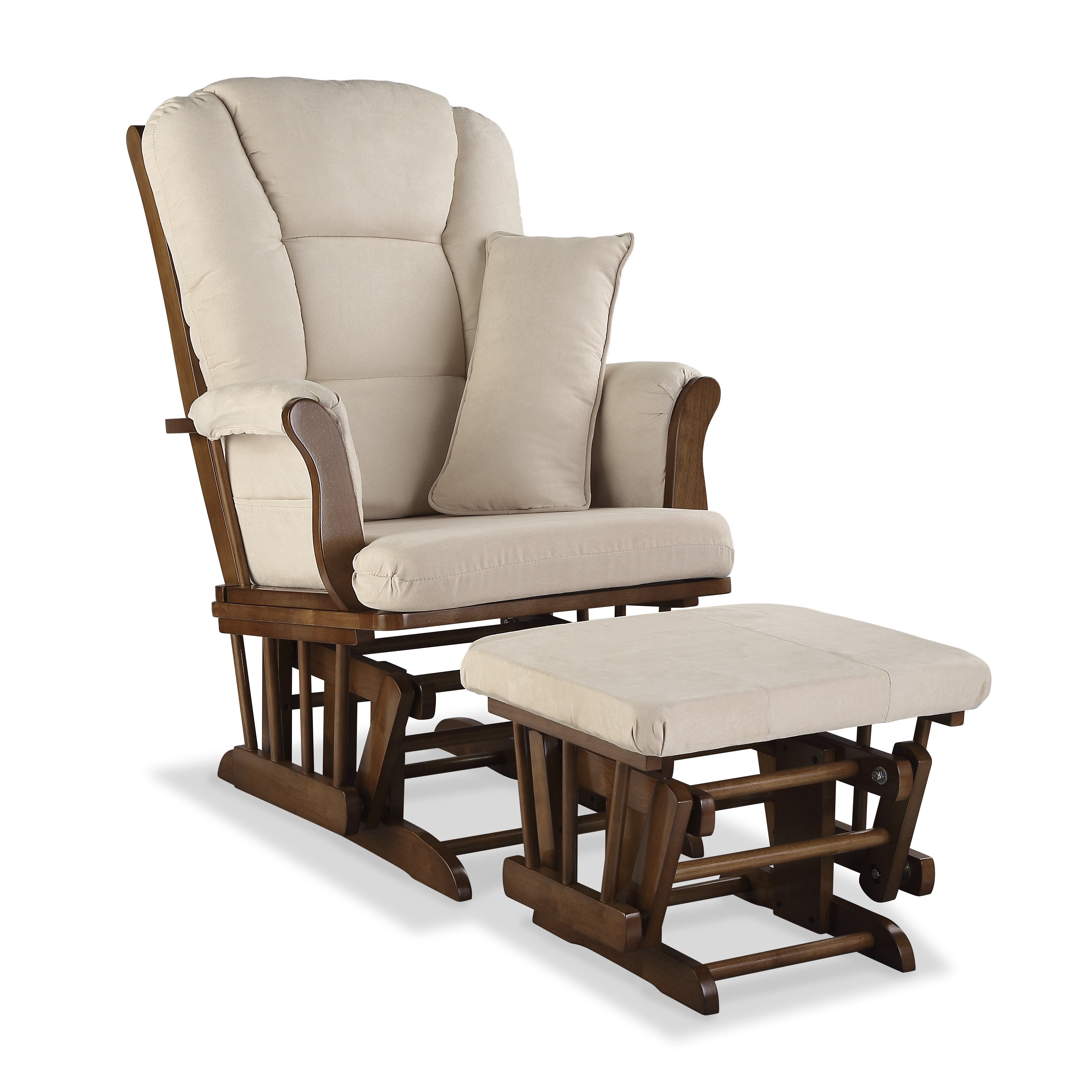 Superb img of Storkcraft Custom Tuscany Glider & Ottoman & Reviews Wayfair with #614530 color and 3913x3913 pixels