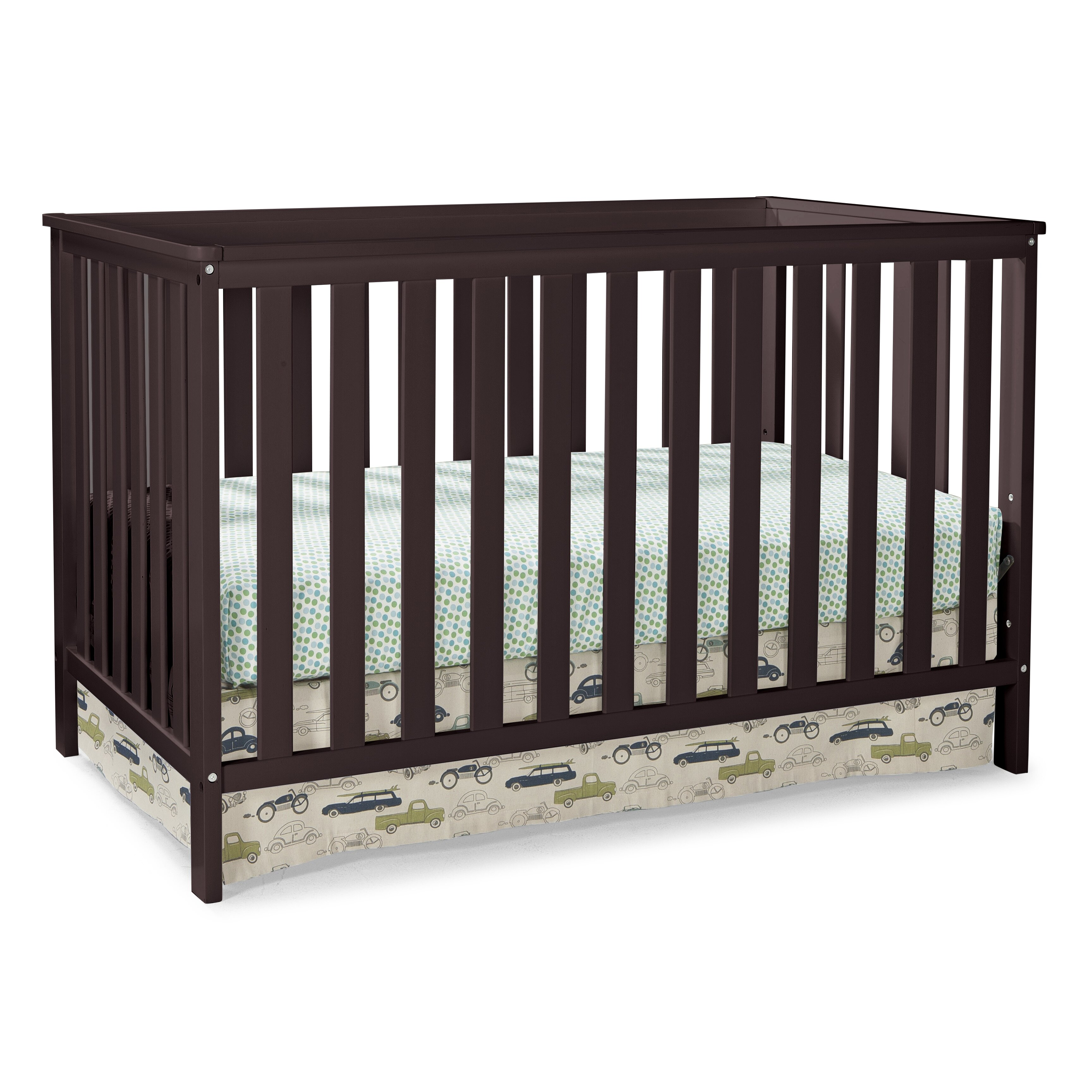 Storkcraft rosland 3 in 1 convertible crib reviews wayfair for Child craft convertible crib instructions
