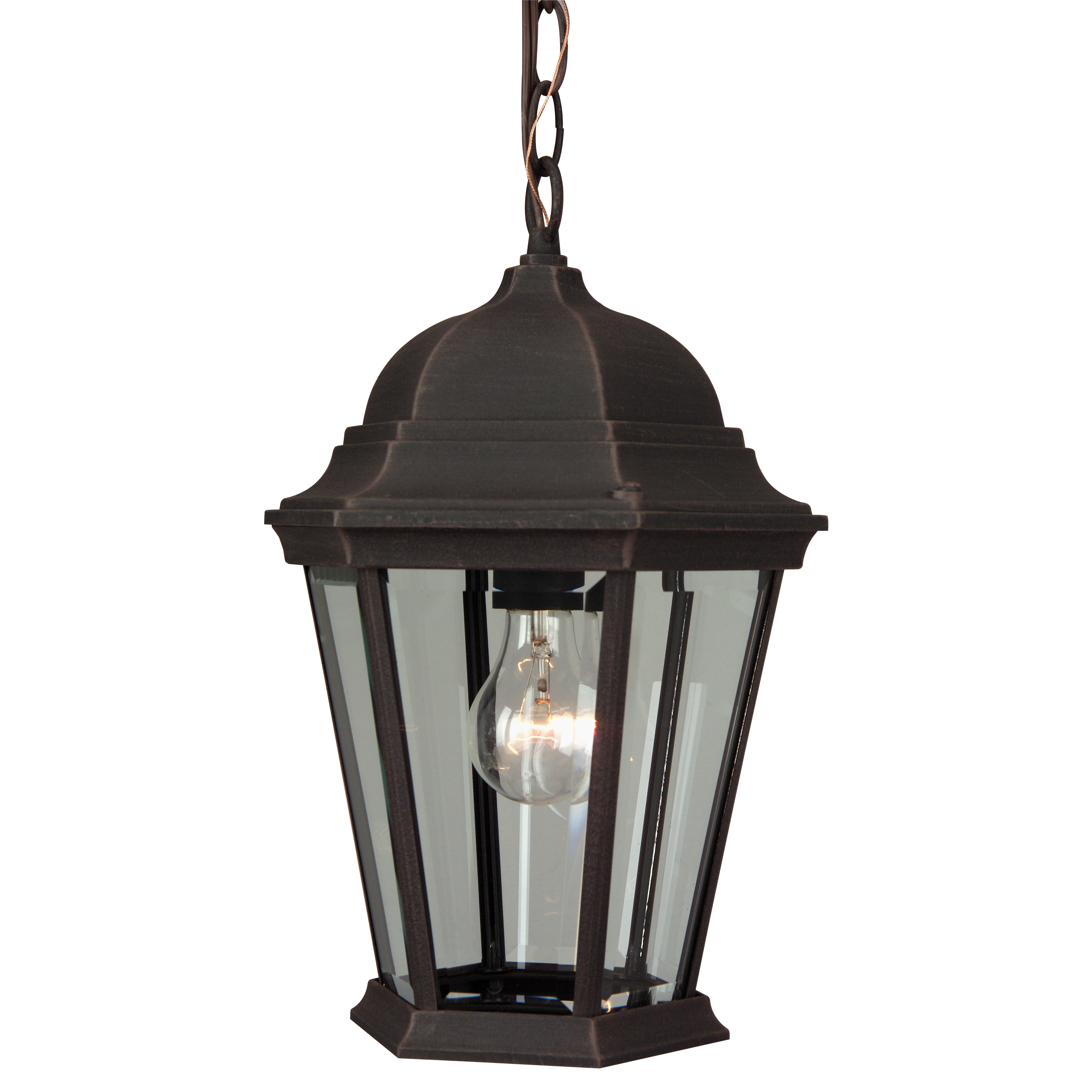 Wayfair Outdoor Hanging Lights: Craftmade 1 Light Outdoor Hanging Lantern & Reviews