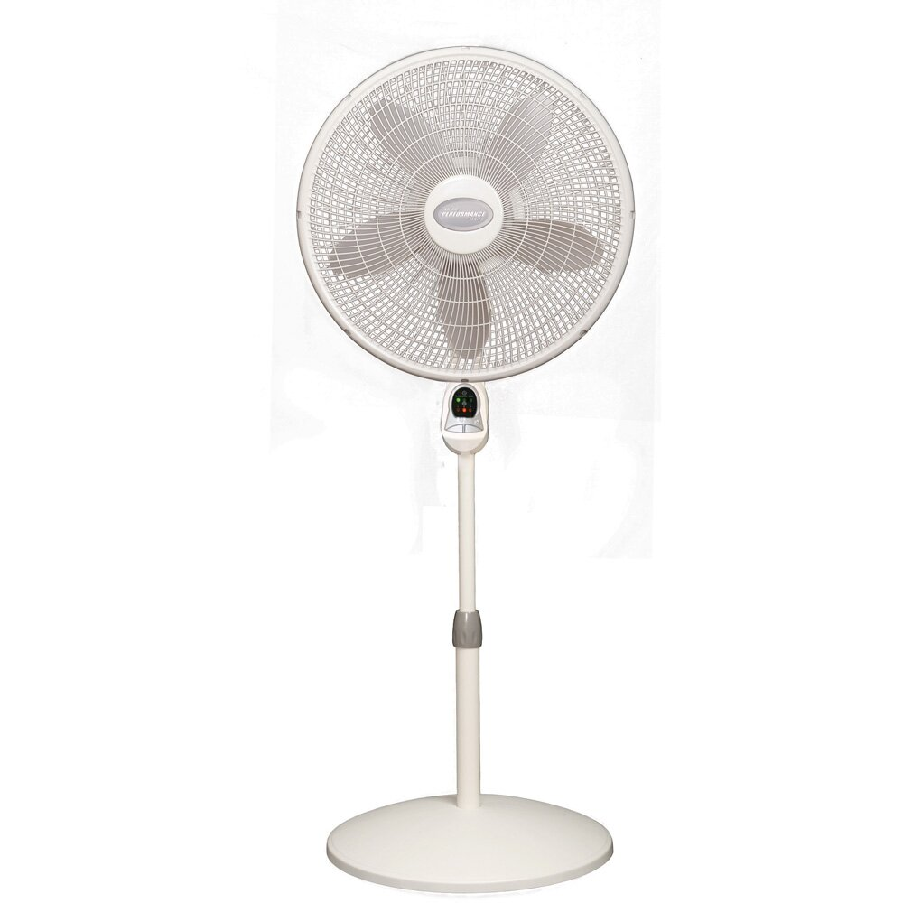 Lasko 18 oscillating pedestal fan with remote control for Lasko fans