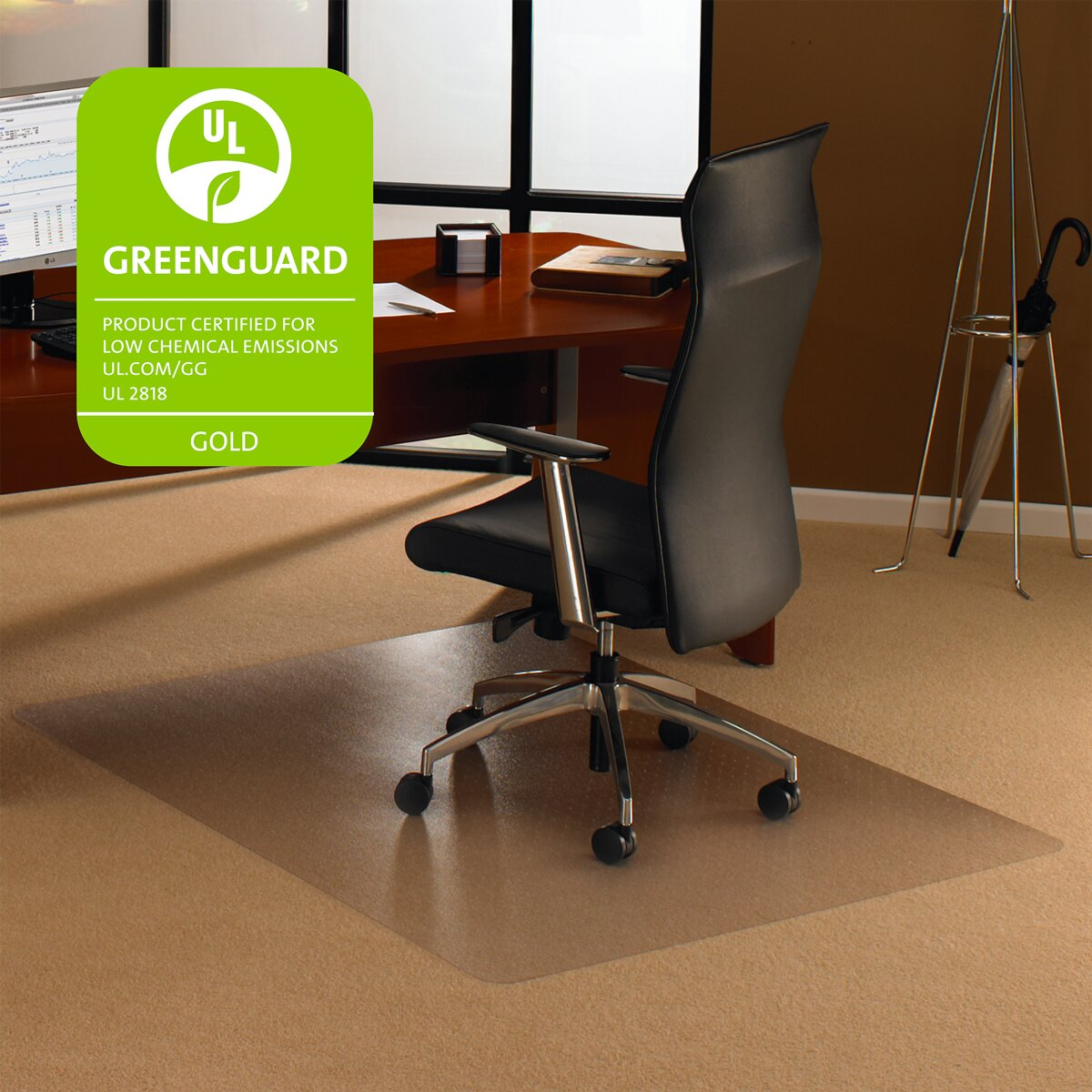 office furniture high pile carpet chair mats floortex sku uof1048