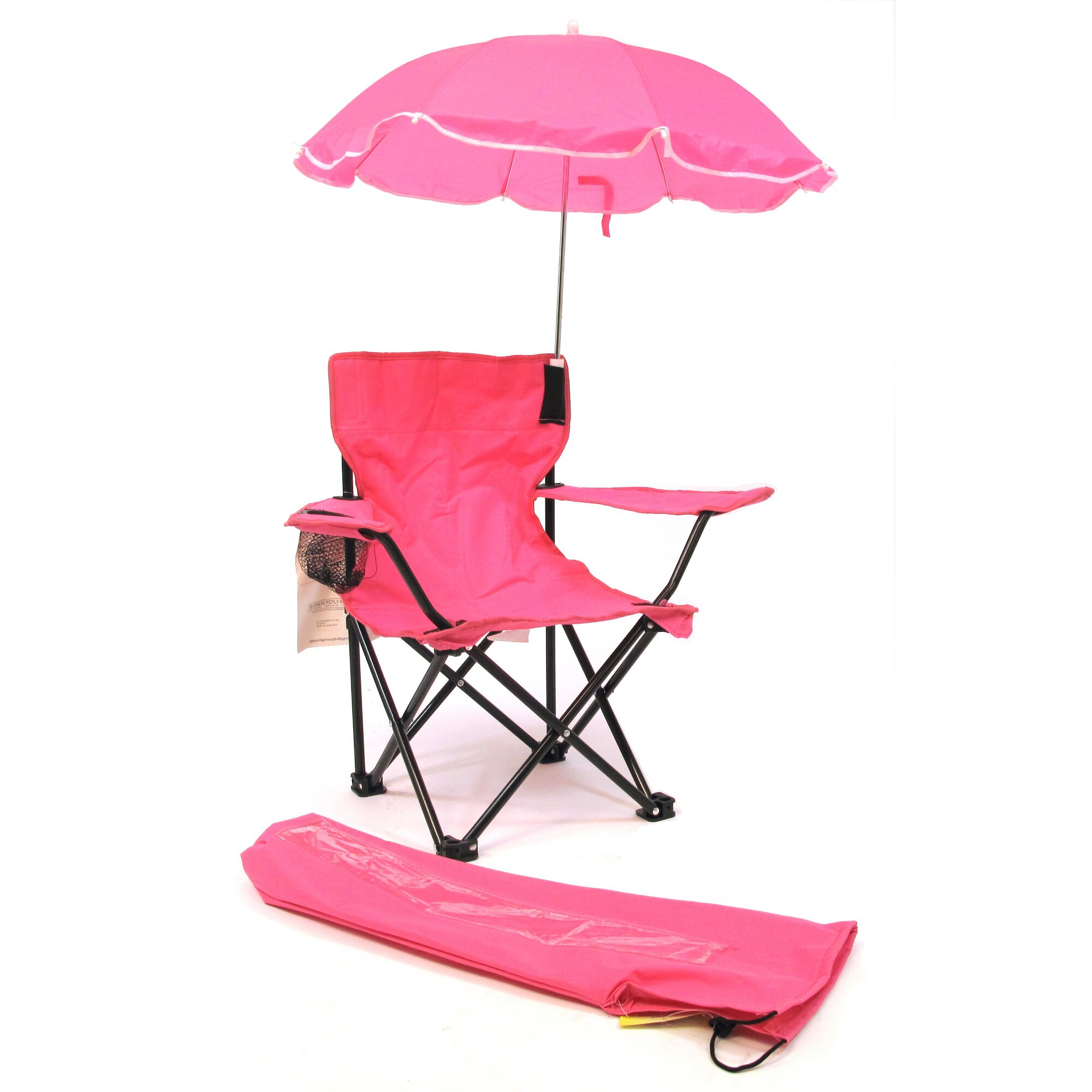 Redmon for Kids Kids Camping Chair with Cup Holder