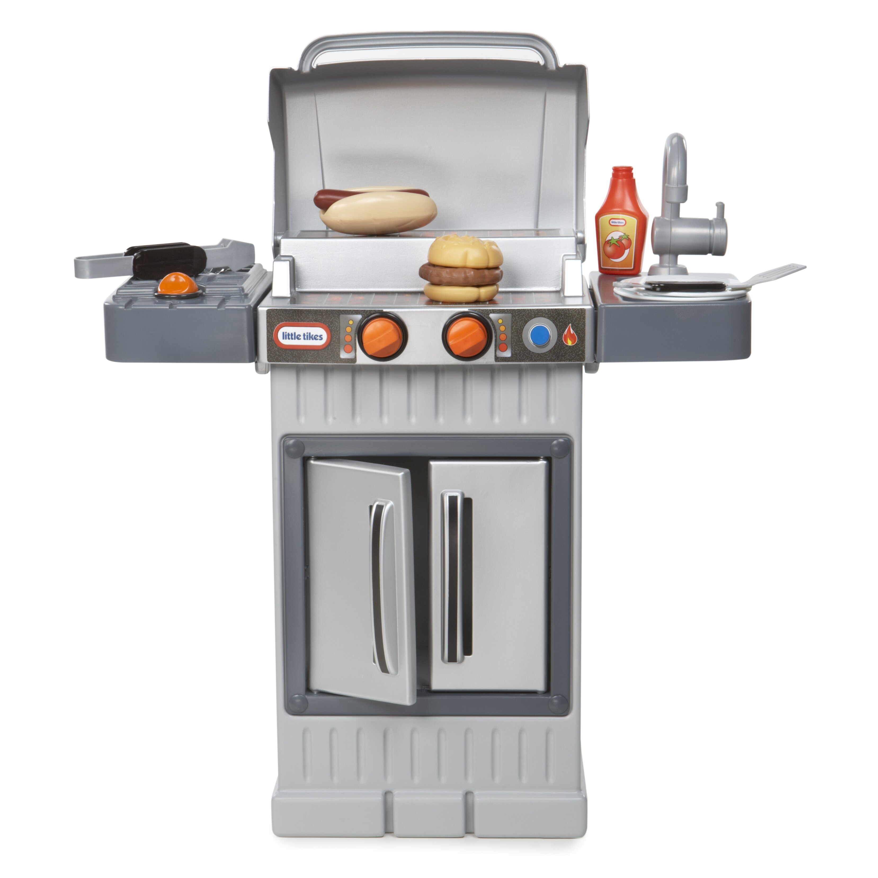 Kitchen Little: Little Tikes Cook 'n Grow™ BBQ Grill Kitchen Set & Reviews