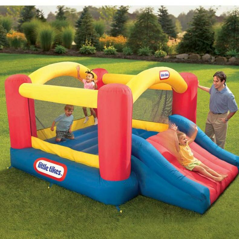 Little Tikes Jump N Slide Dry Bounce House Amp Reviews Wayfair