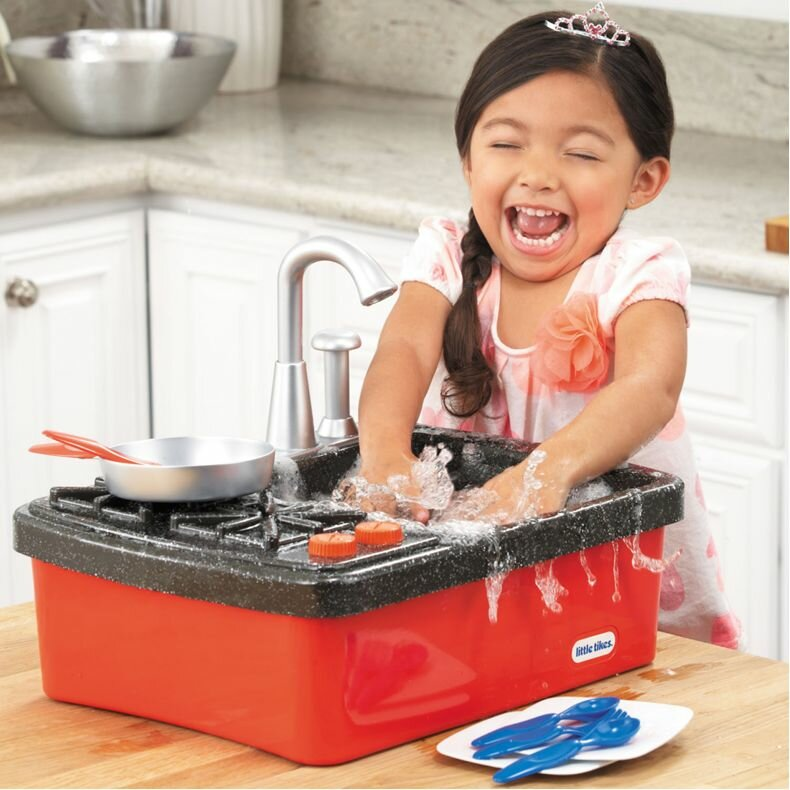 Little Tikes Splish Splash 13 Piece Sink And Stove Play