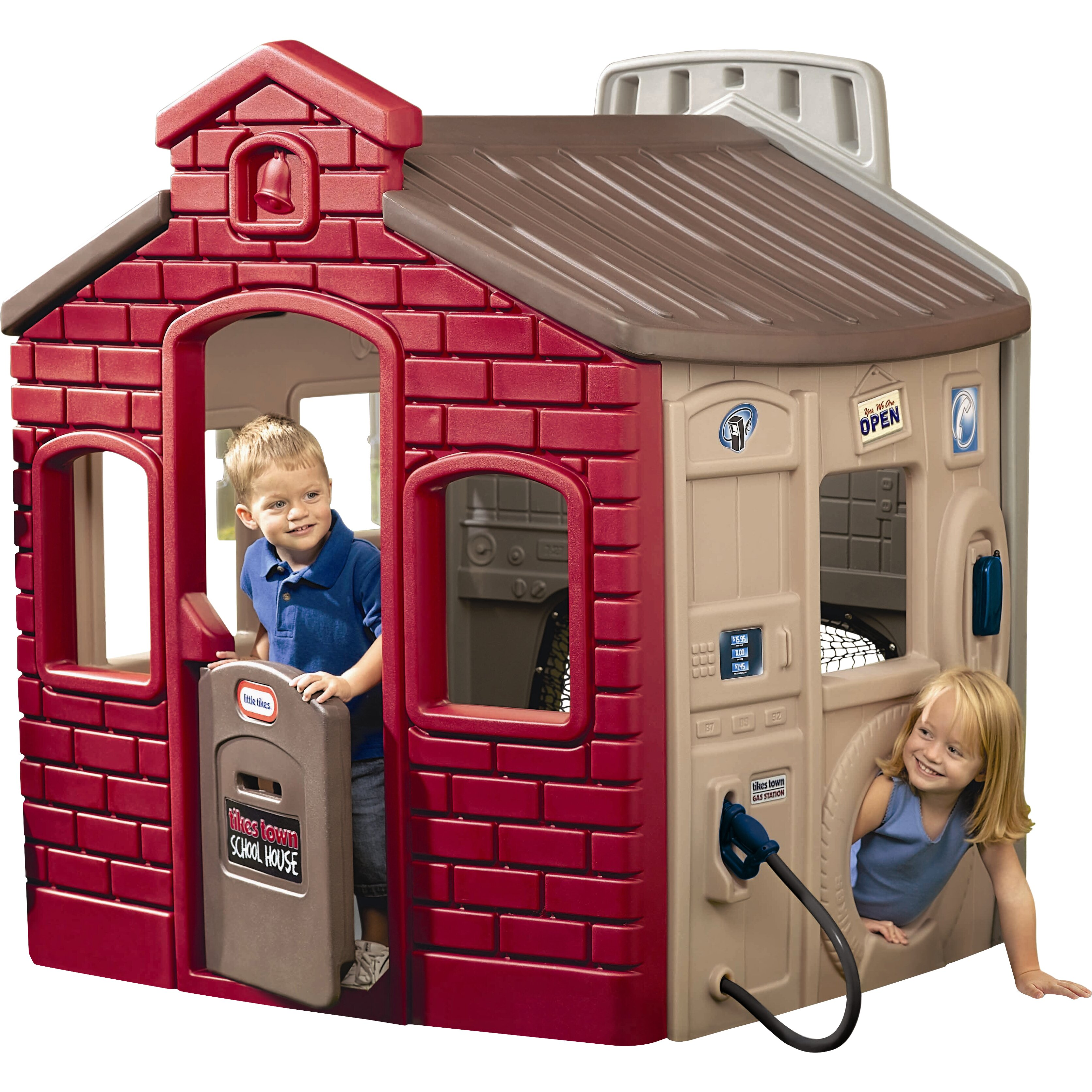 Little tikes town playhouse reviews wayfair for Little tikes house