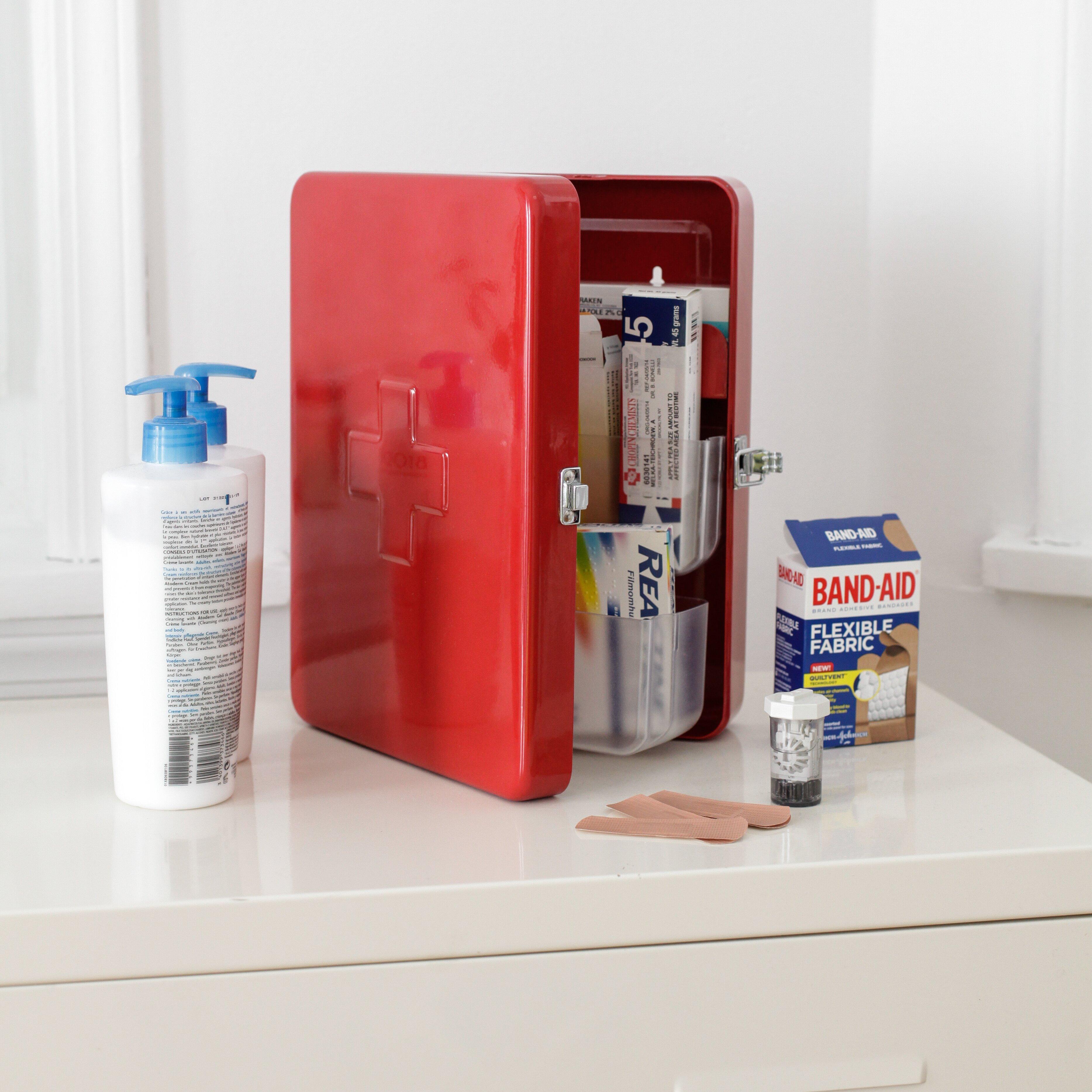 Kikkerland First Aid Box Amp Reviews Wayfair