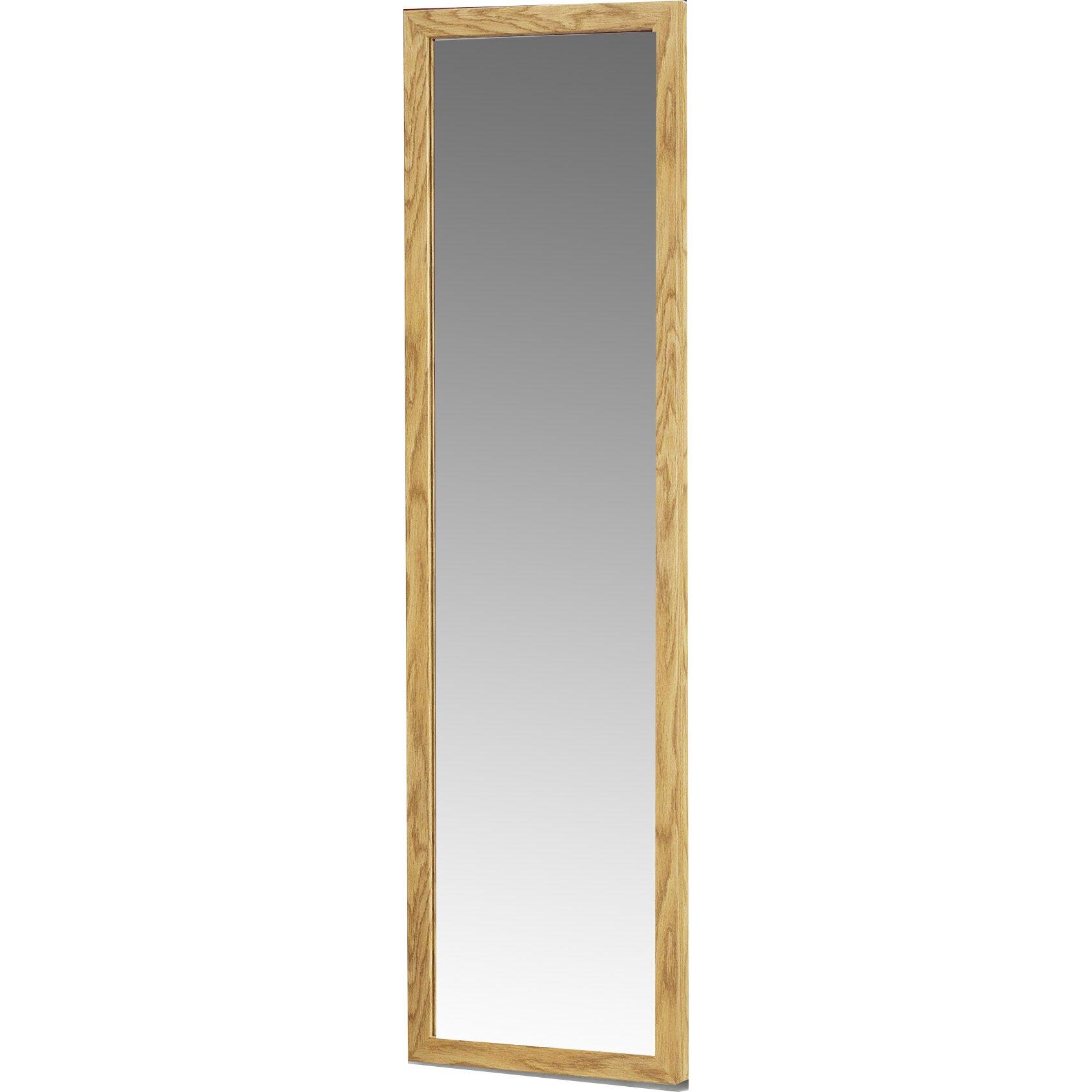 Mirrotek Over The Door Full Length Mirror Reviews Wayfair