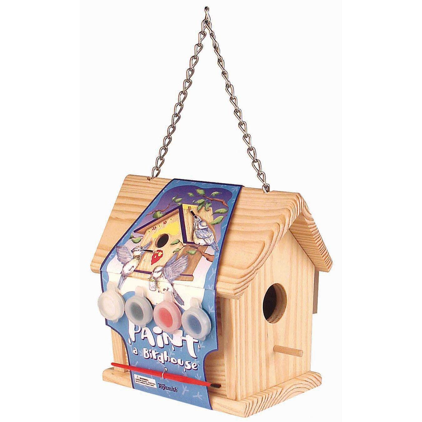 Toysmith Paint A Birdhouse Reviews Wayfair