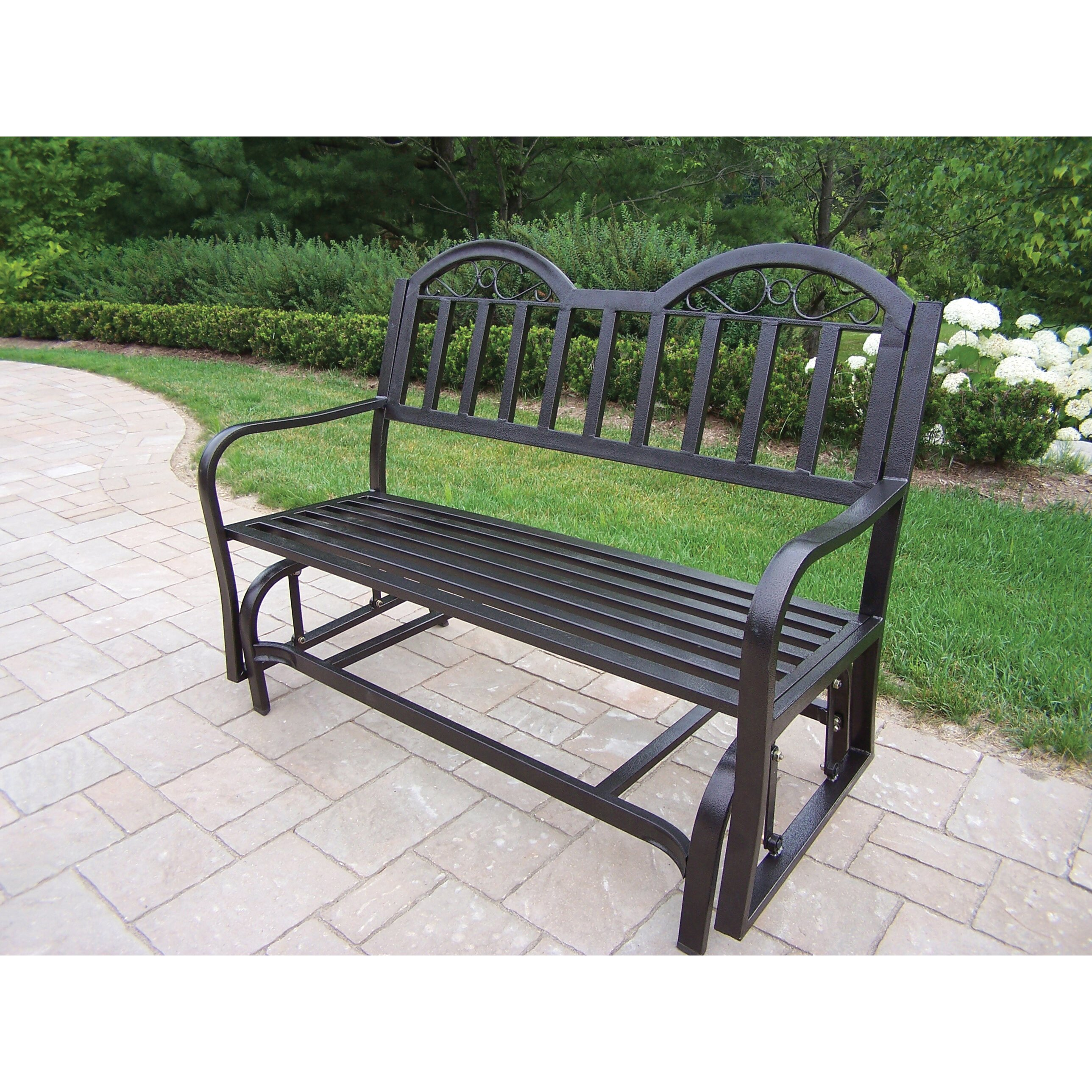 Outdoor Patio Furniture Rochester Ny: Oakland Living Rochester Glider & Reviews