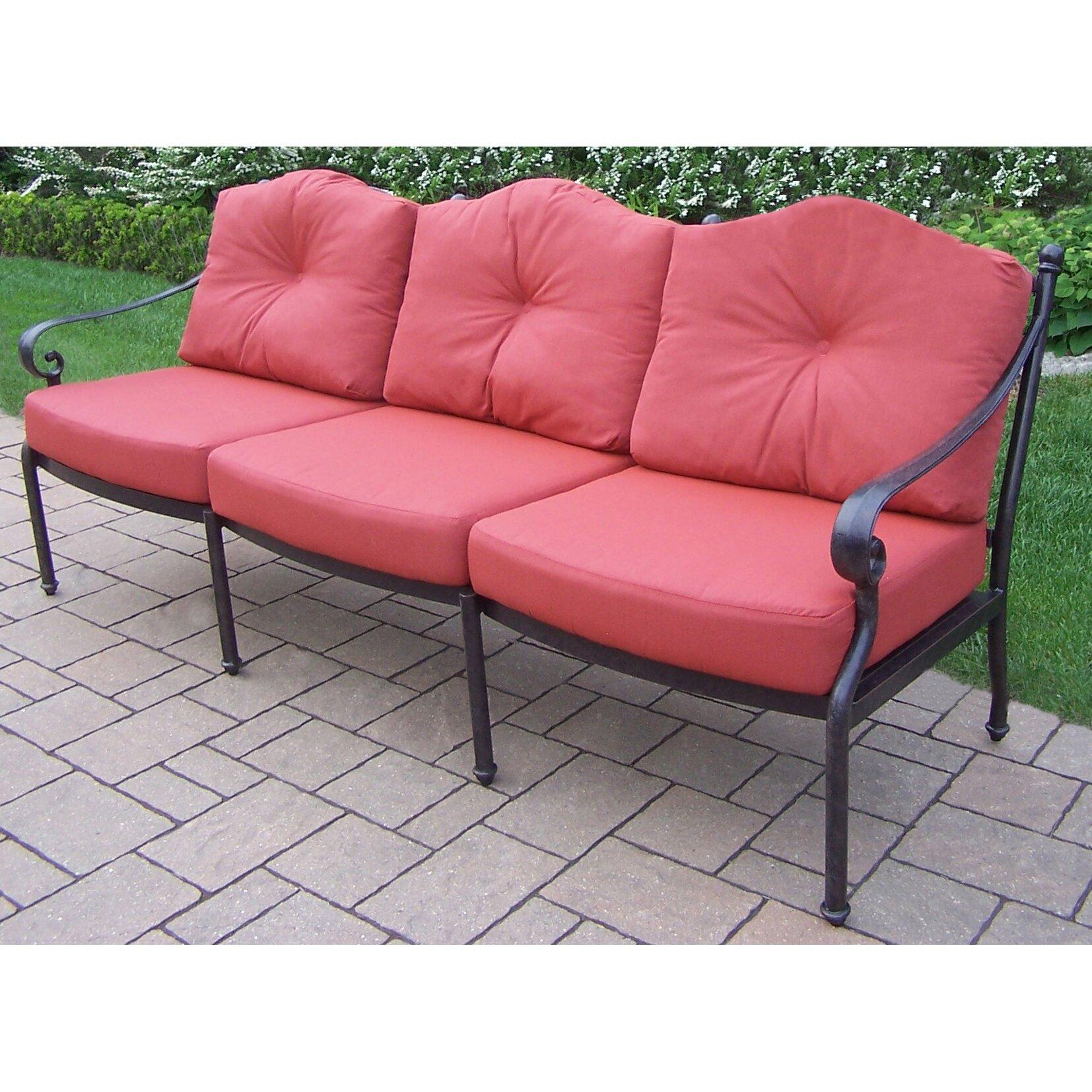 Oakland Living Berkley Deep Seating Sofa With Cushions