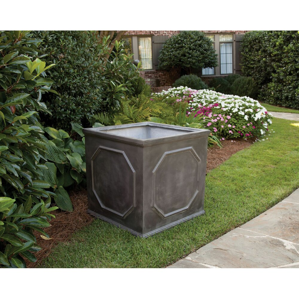 Napa home garden square planter box reviews wayfair for Wayfair garden box
