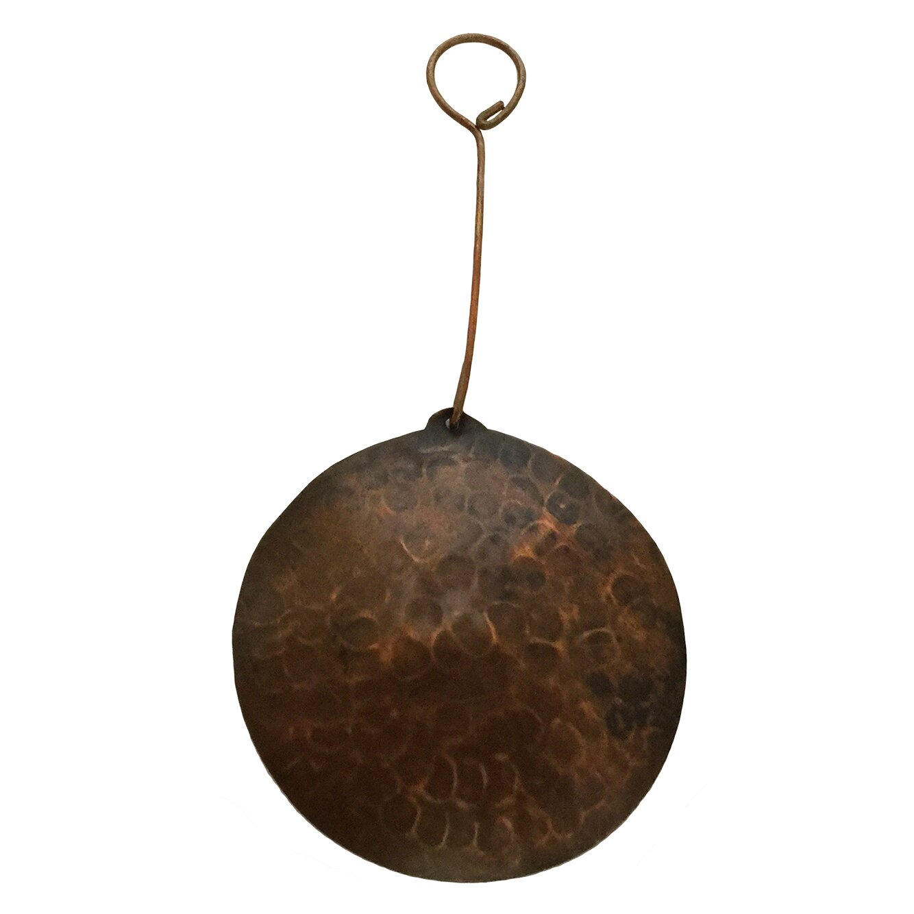 Premier copper products hand hammered round