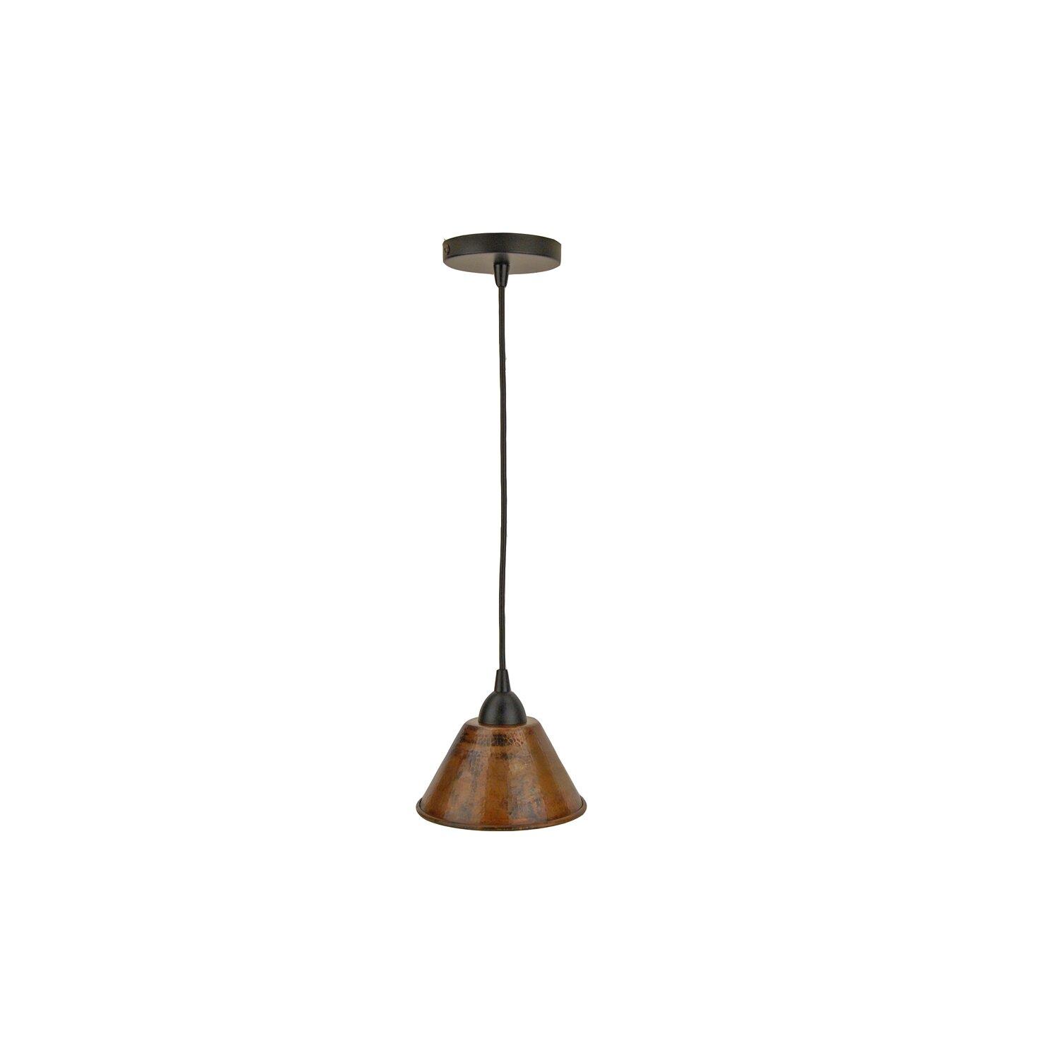 Premier Copper Products 1 Light Pendant Reviews Wayfair