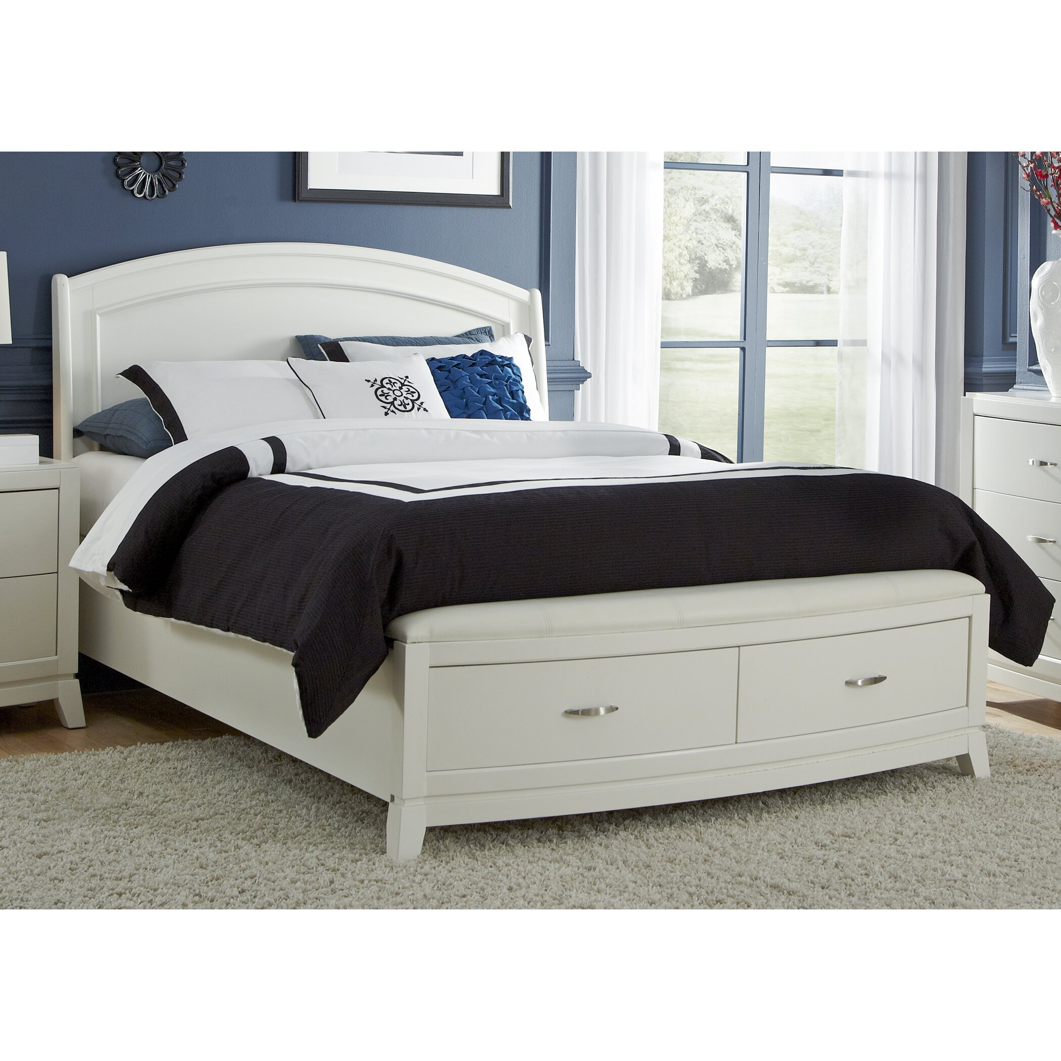 liberty furniture storage platform customizable bedroom 12918 |