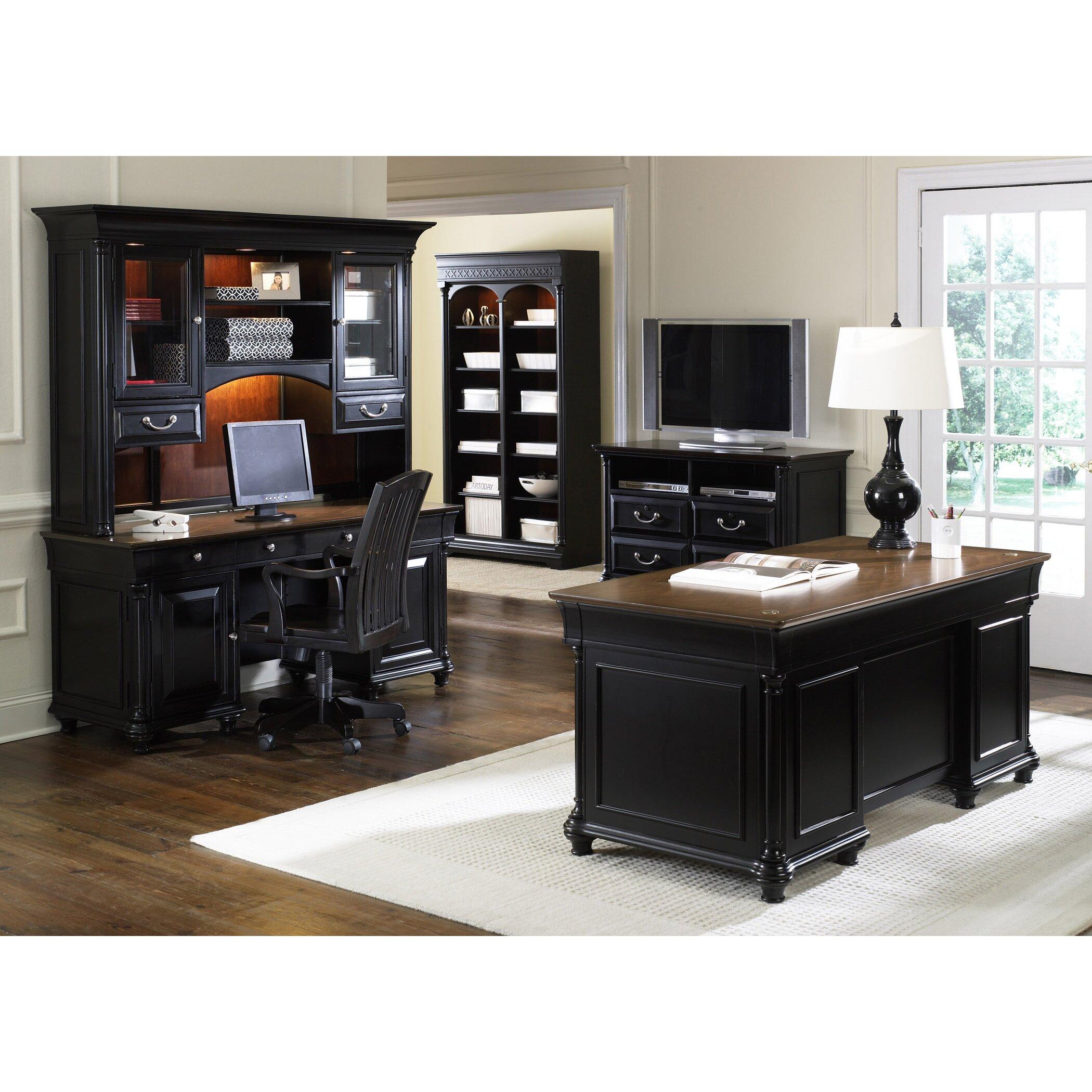 Liberty Furniture St. Ives 5-Piece Standard Desk Office
