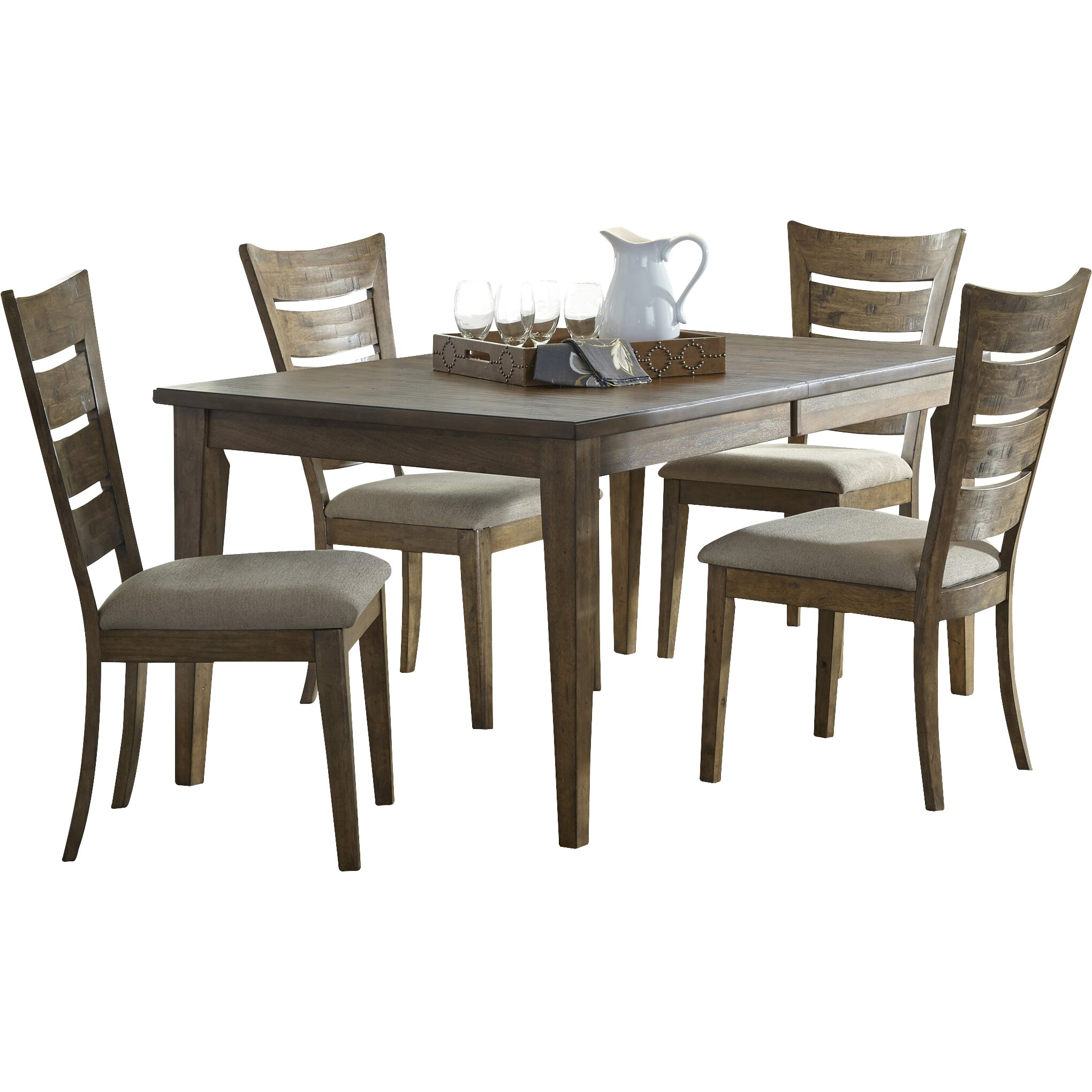 Liberty furniture 5 piece dining set reviews wayfair for 5 piece dining set