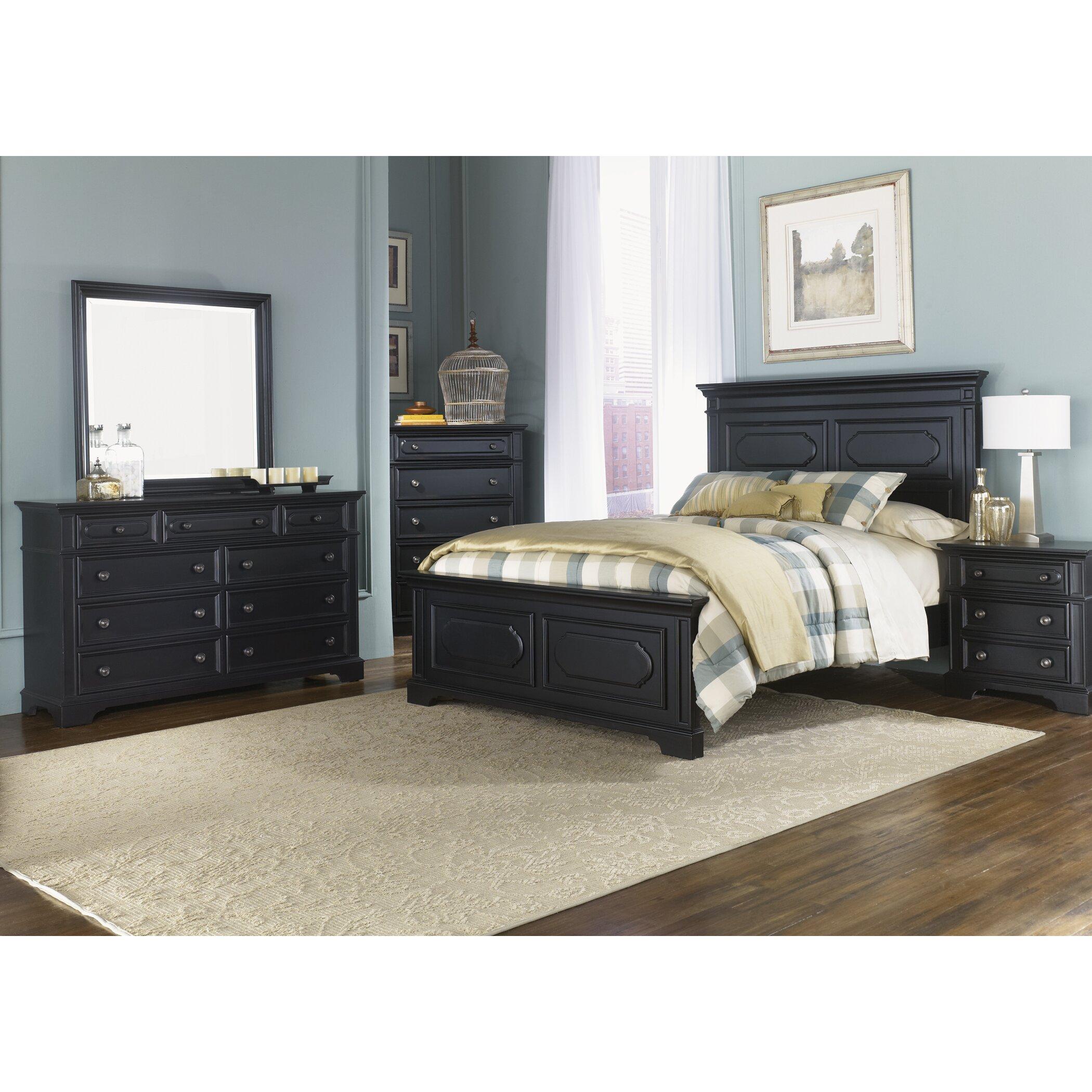 Liberty Furniture Carrington Ii Panel Customizable Bedroom Set Reviews Wayfair