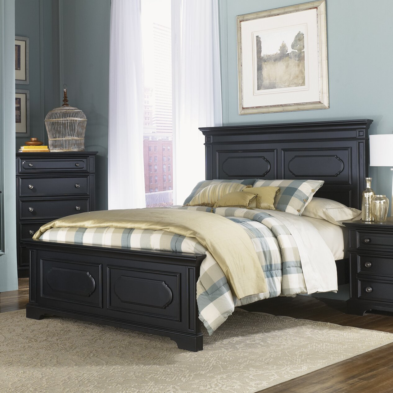 Liberty Furniture Carrington II Panel Customizable Bedroom Set Reviews