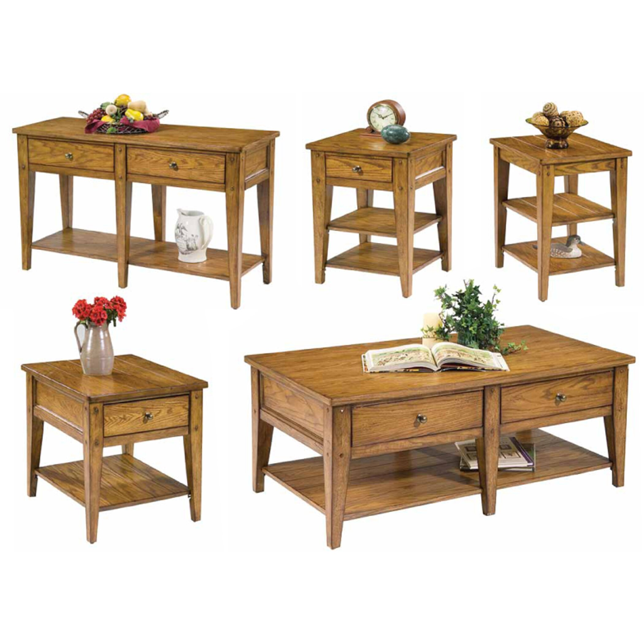 Liberty Furniture Lake House Coffee Table Set & Reviews