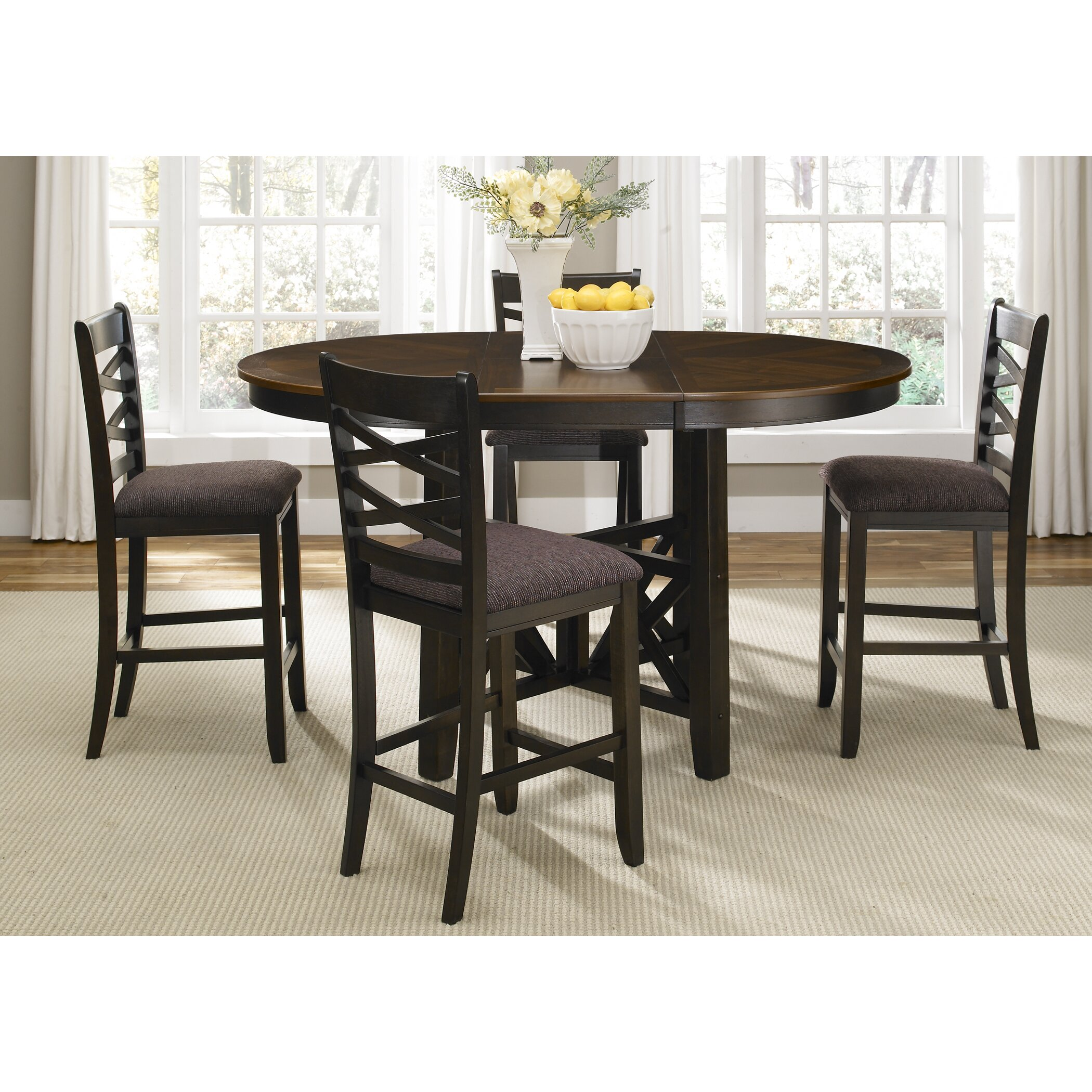 Liberty furniture bistro ii 5 piece dining set reviews for Breakfast sets furniture