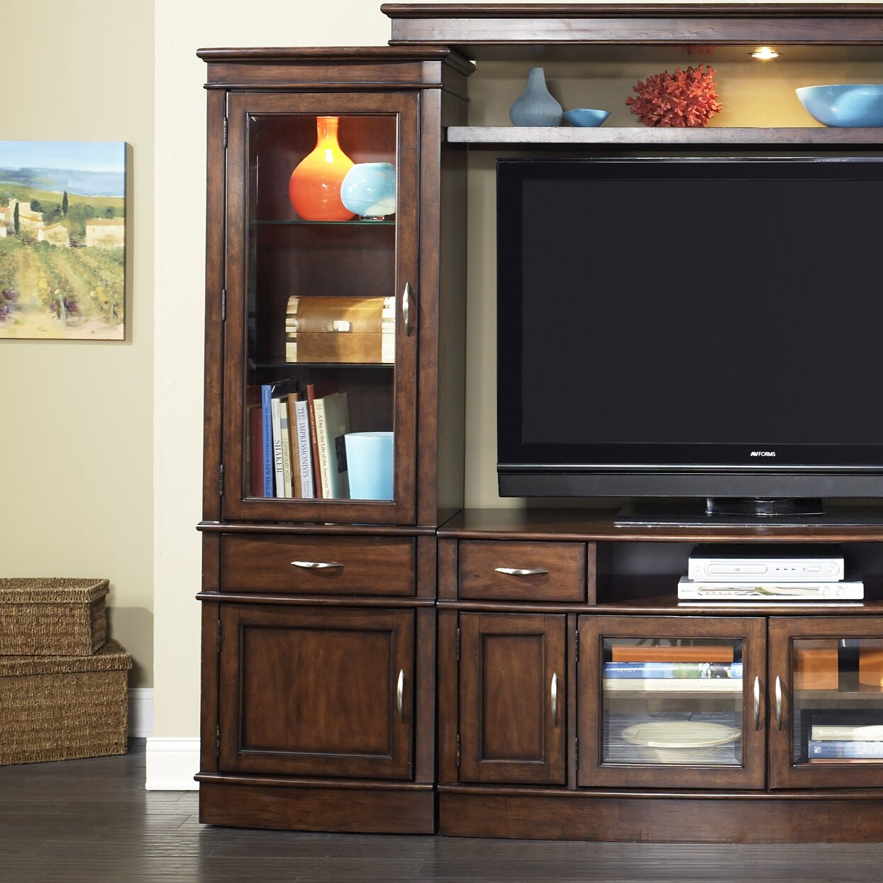 Liberty Furniture Hanover Entertainment Center amp Reviews  :  from www.wayfair.com size 1245 x 1245 jpeg 325kB