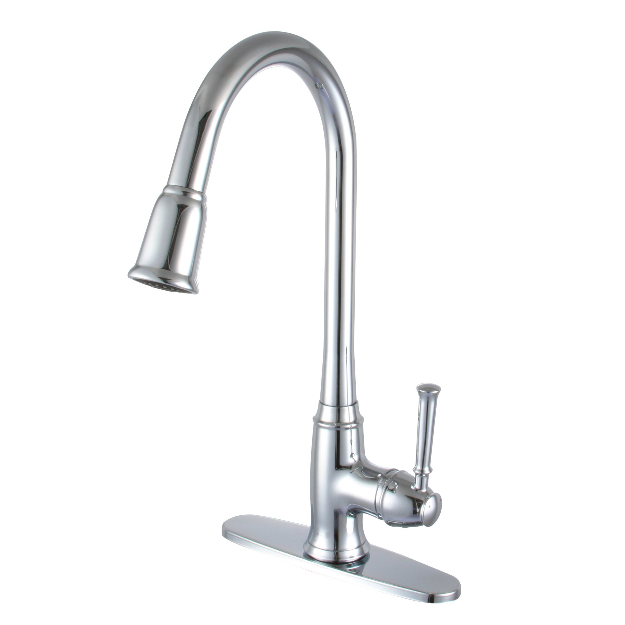 Yosemite Home Decor Single Handle Deck Kitchen Faucet Reviews Wayfair
