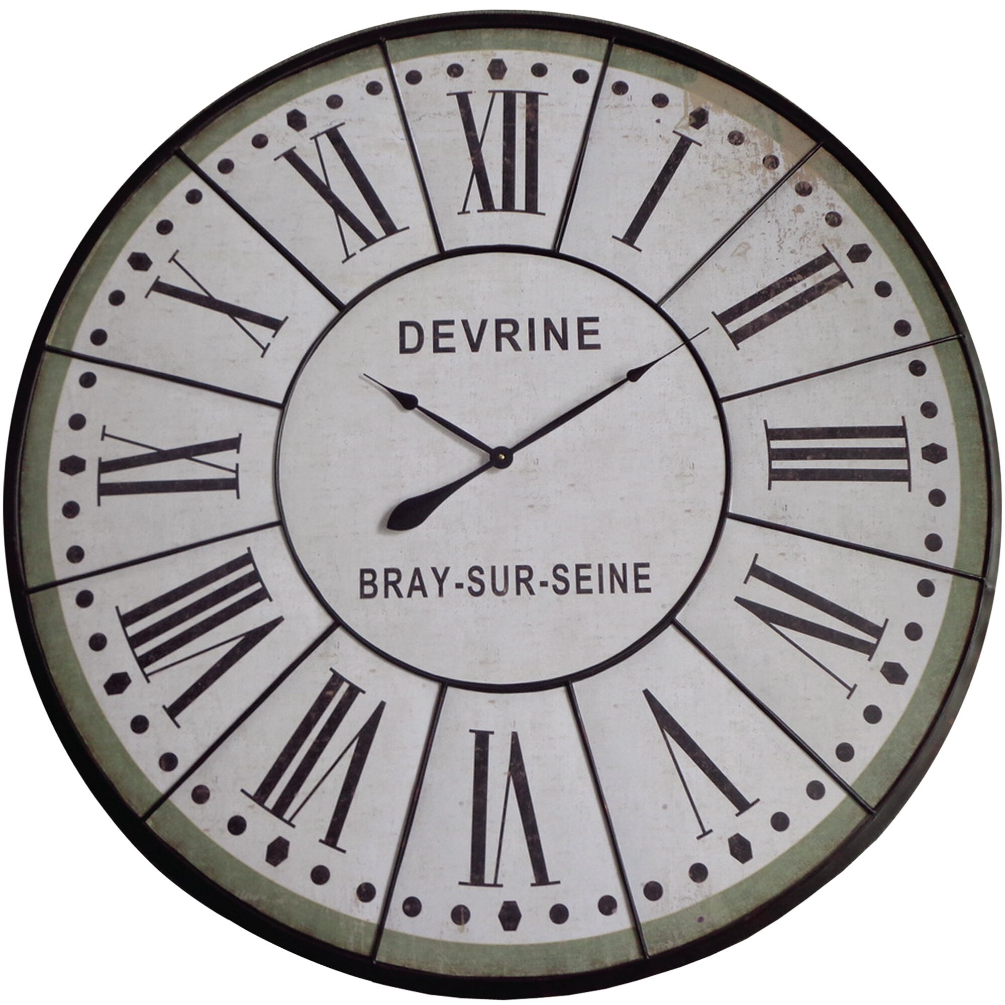 Yosemite Home Decor Oversized 48 Quot Wall Clock Amp Reviews
