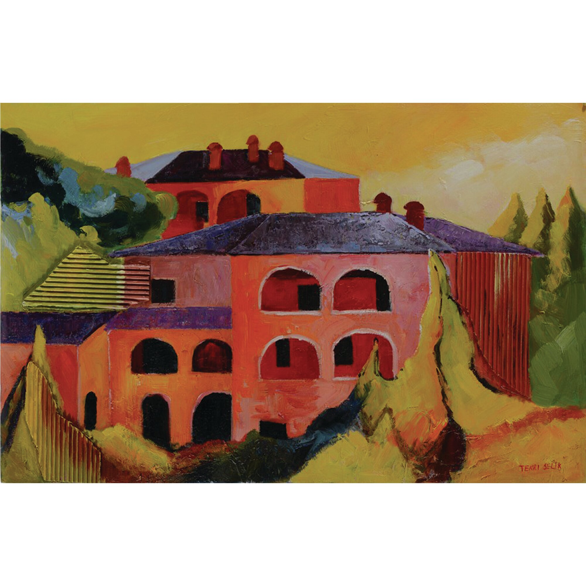 Yosemite Home Decor Tuscan Village Painting on Wrapped  : Yosemite Home Decor Tuscan Village Painting on Wrapped Canvas from www.wayfair.com size 2000 x 2000 jpeg 627kB