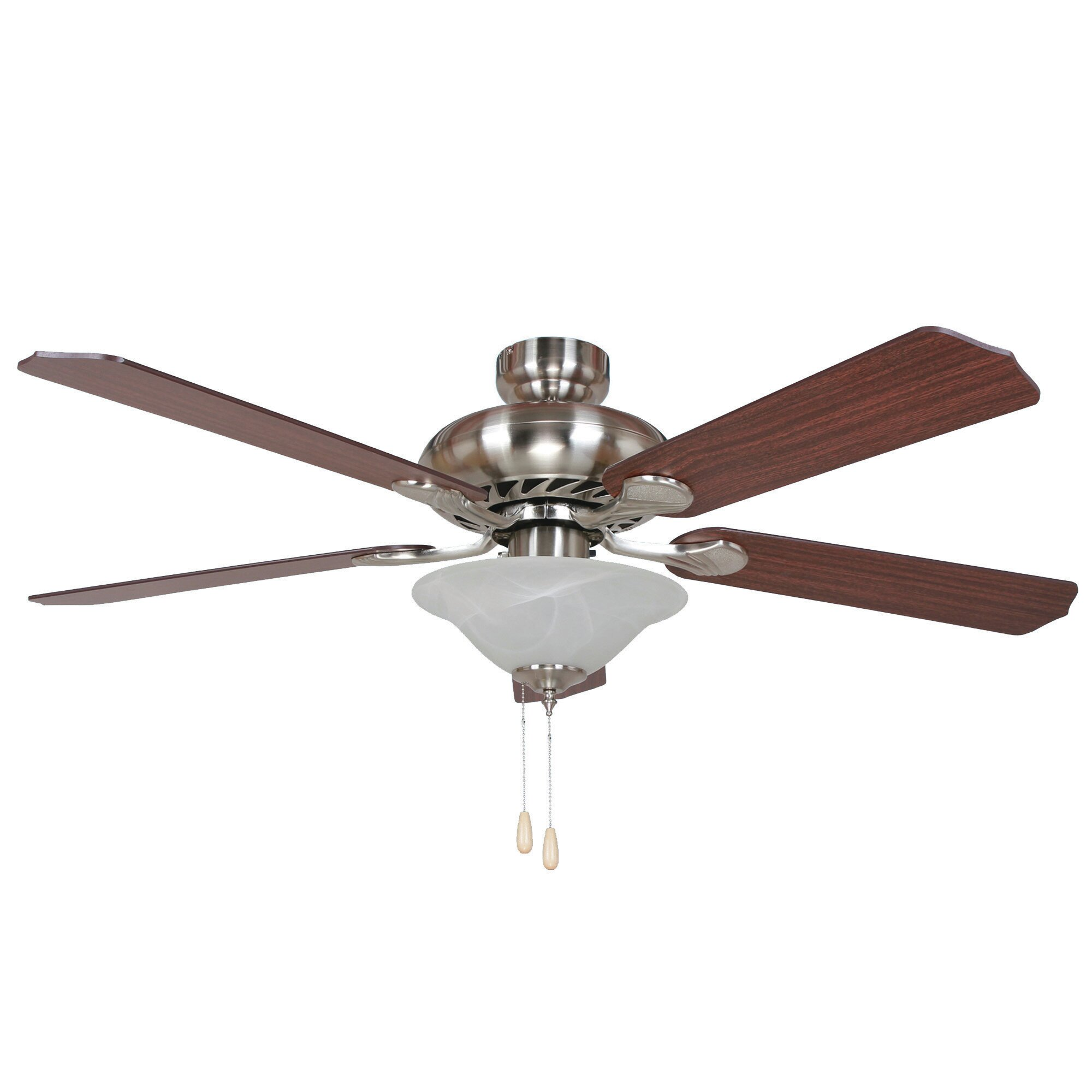 Yosemite home decor 52 whitney 5 blade ceiling fan for Home decorations fan