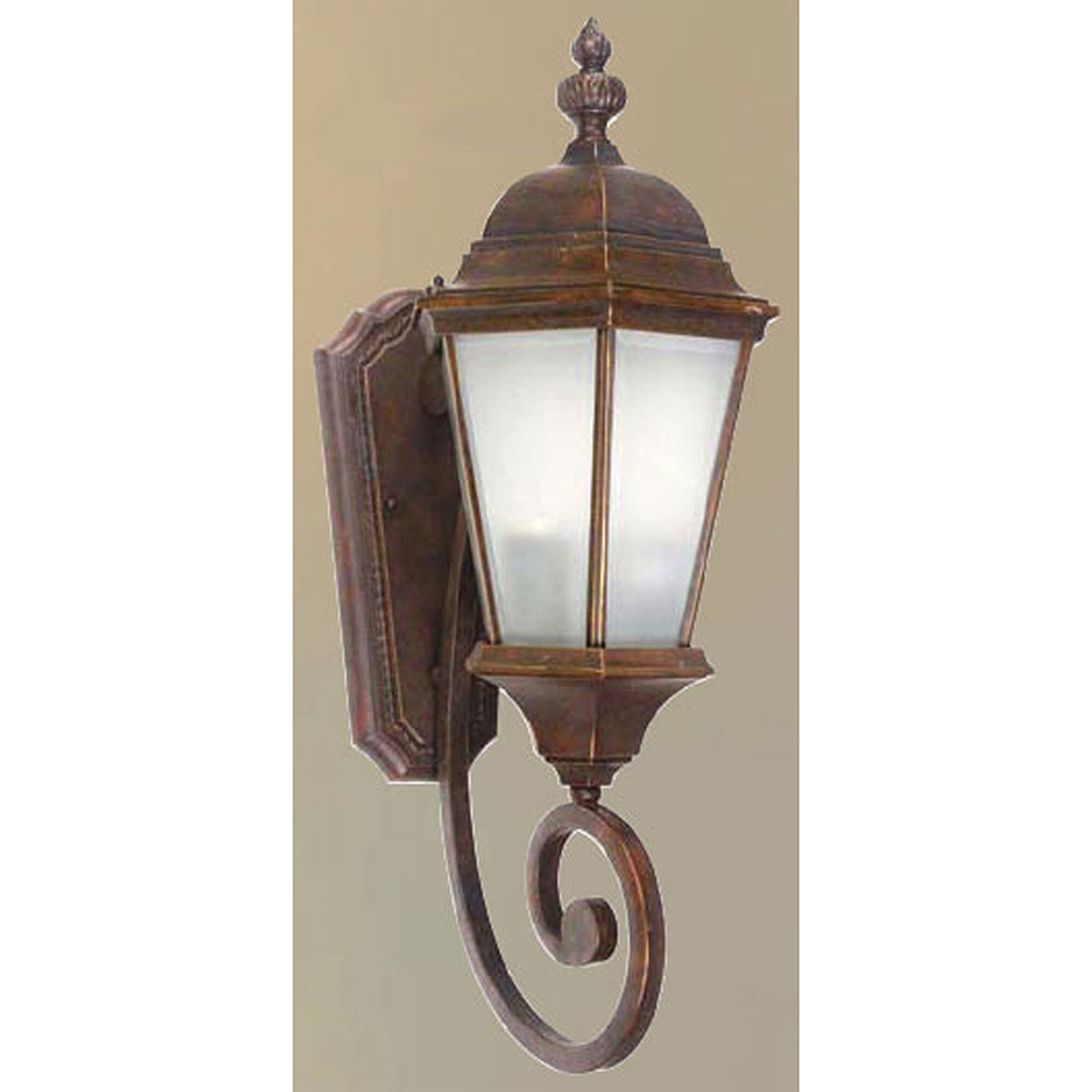 Decorative Wall Lights For Home : Yosemite Home Decor Brielle 2 Light Outdoor Sconce & Reviews Wayfair
