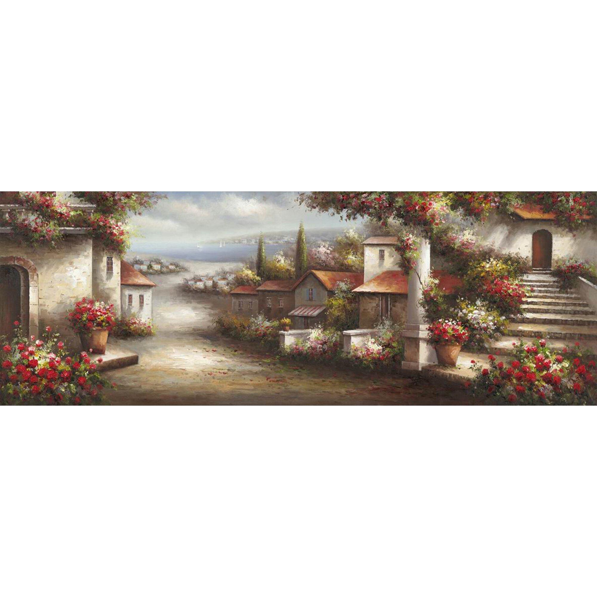 Yosemite Home Decor Revealed Artwork European Village 1