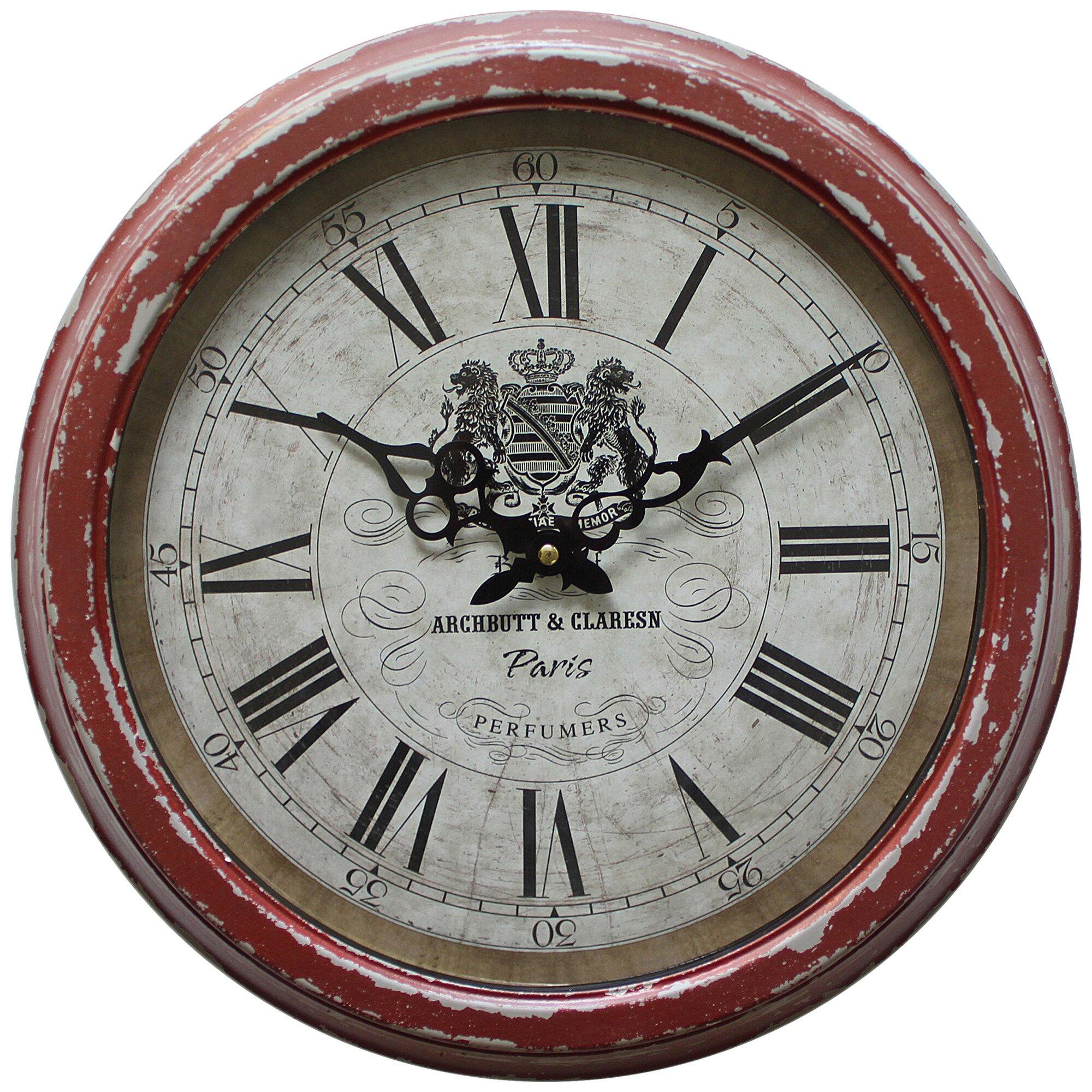 "Yosemite Home Decor 16"" Wall Clock & Reviews"