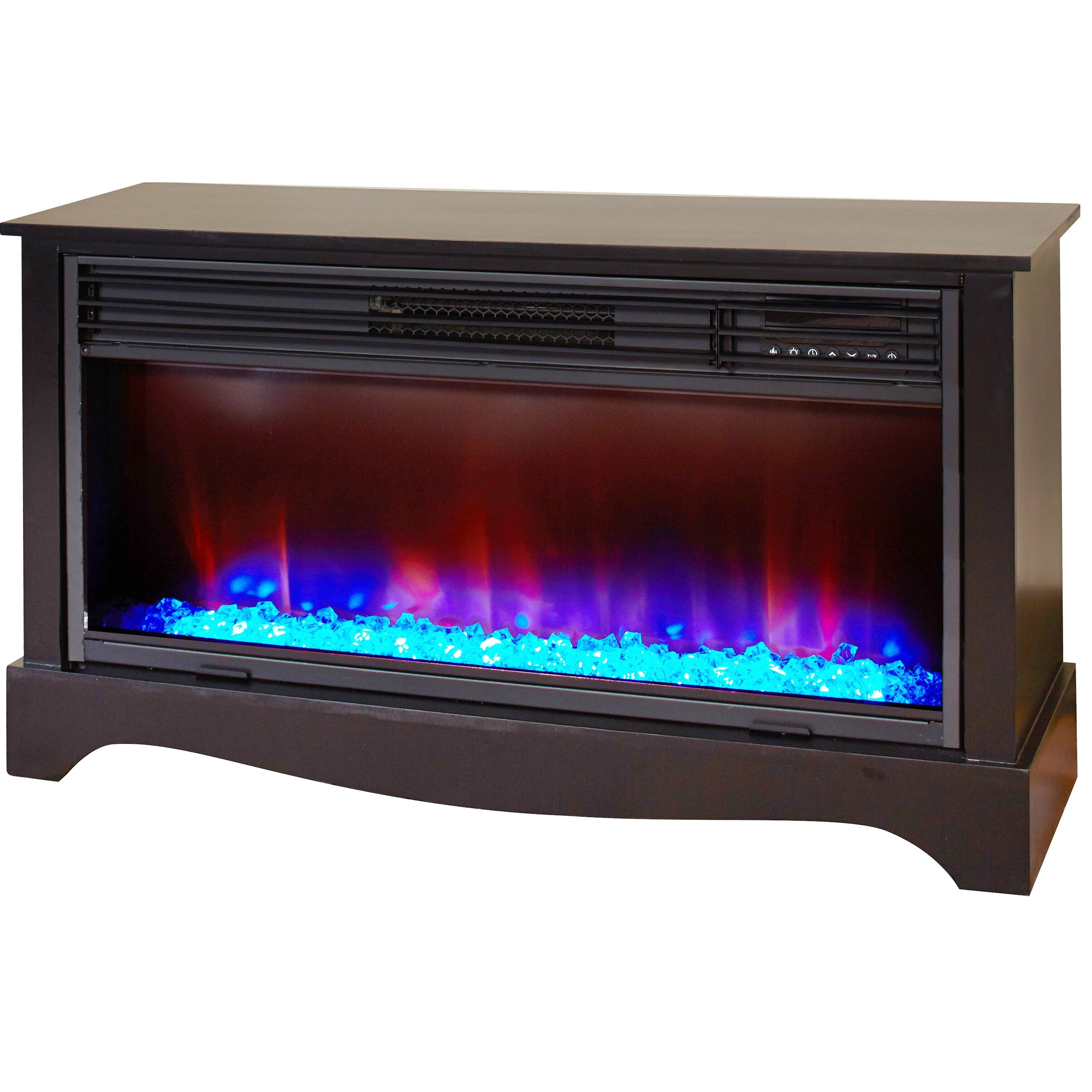 Lifesmart Lifezone Infrared Electric Fireplace Reviews Wayfair