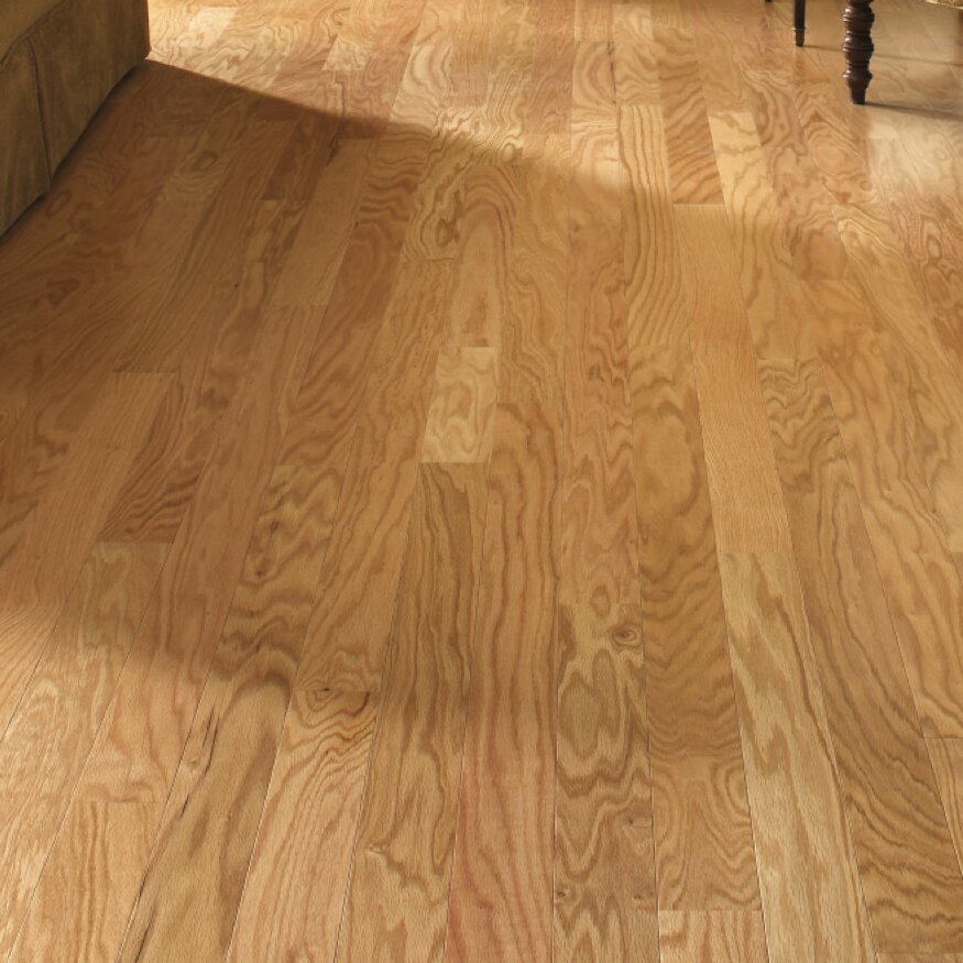 Lm flooring gevaldo 3 engineered red oak hardwood for Natural oak wood flooring