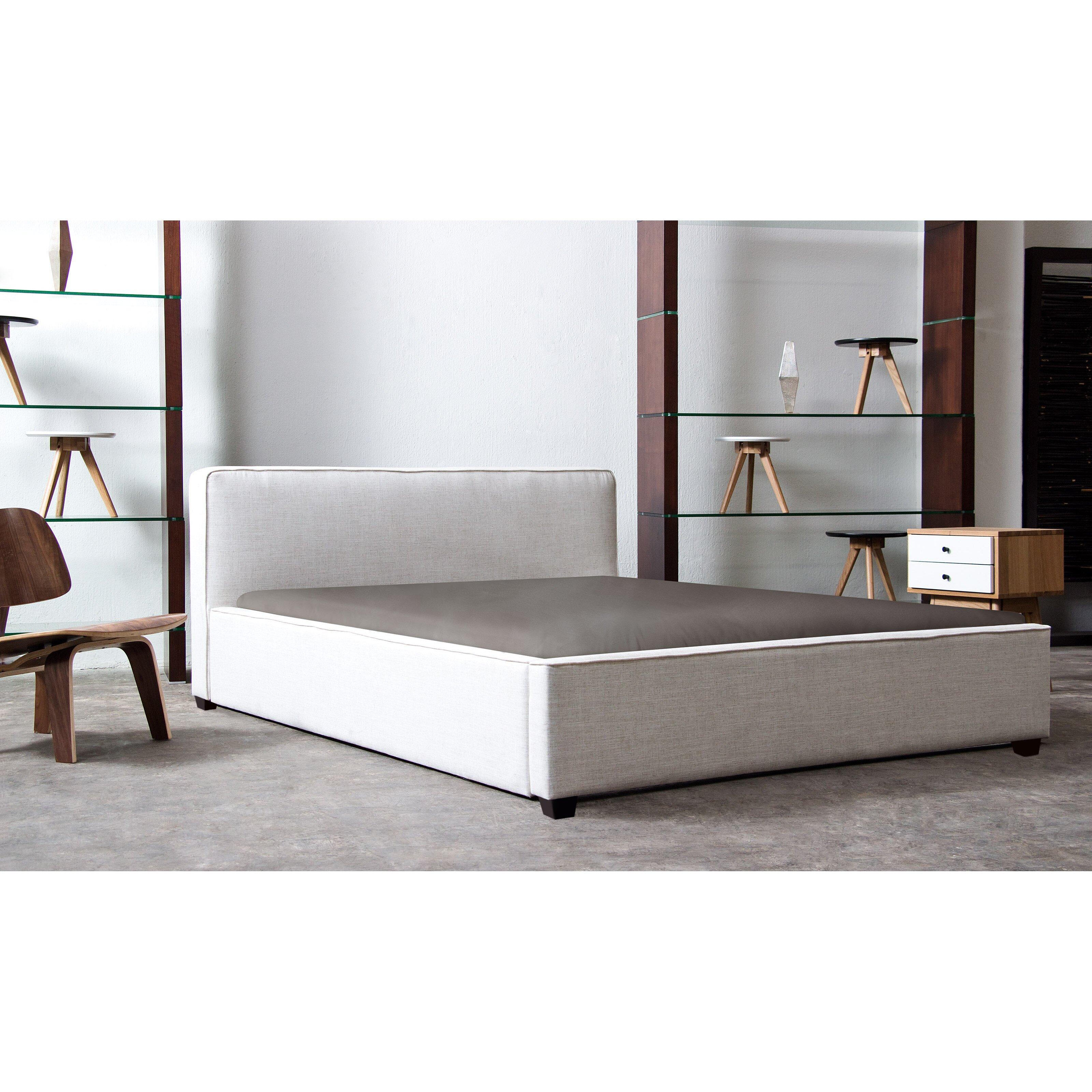 Diamond sofa euro bed frame reviews wayfair for Diamond bed frame
