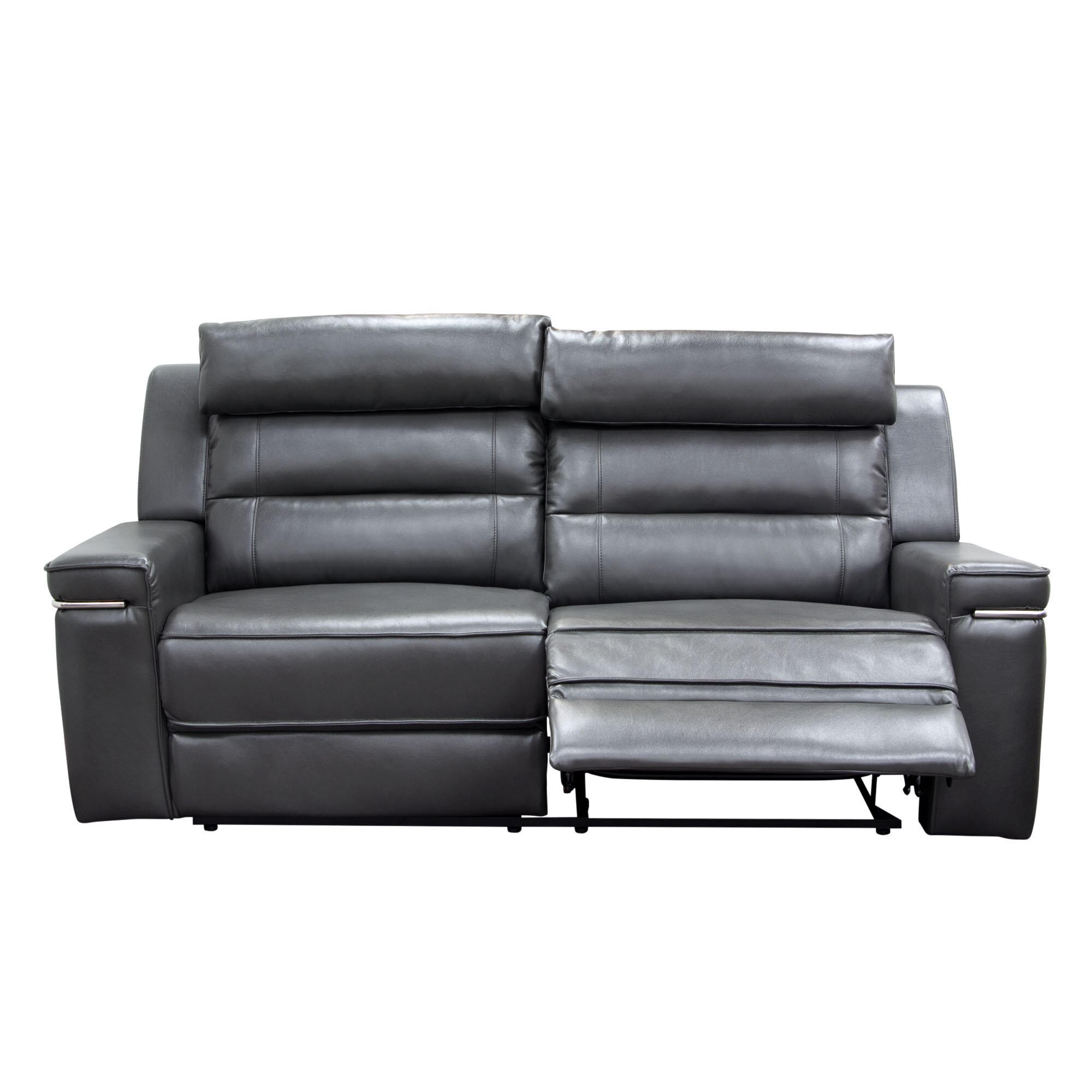 Diamond Sofa Duncan Leather Dual Reclining Loveseat Reviews Wayfair
