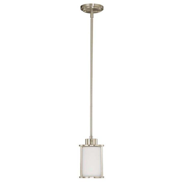 Nuvo Lighting Odeon 1 Light Mini Pendant Amp Reviews
