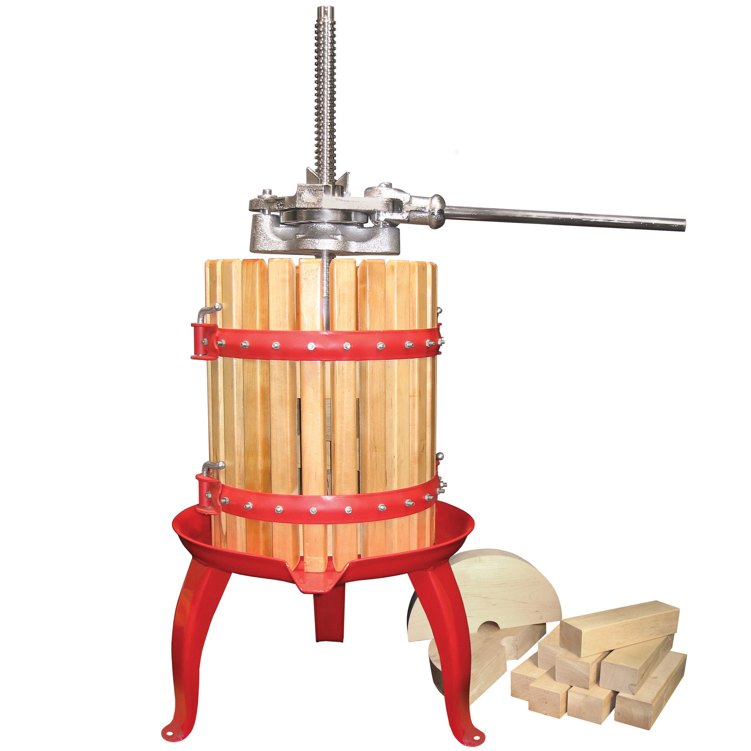 Weston fruit and wine press reviews wayfair for Home wine press