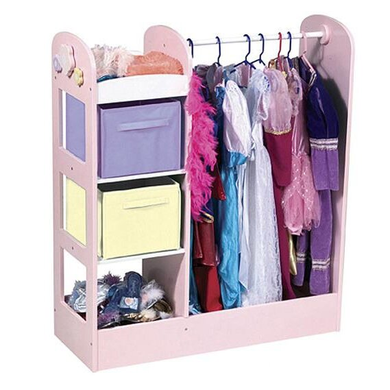 Guidecraft See And Store Dress Up Center Amp Reviews Wayfair