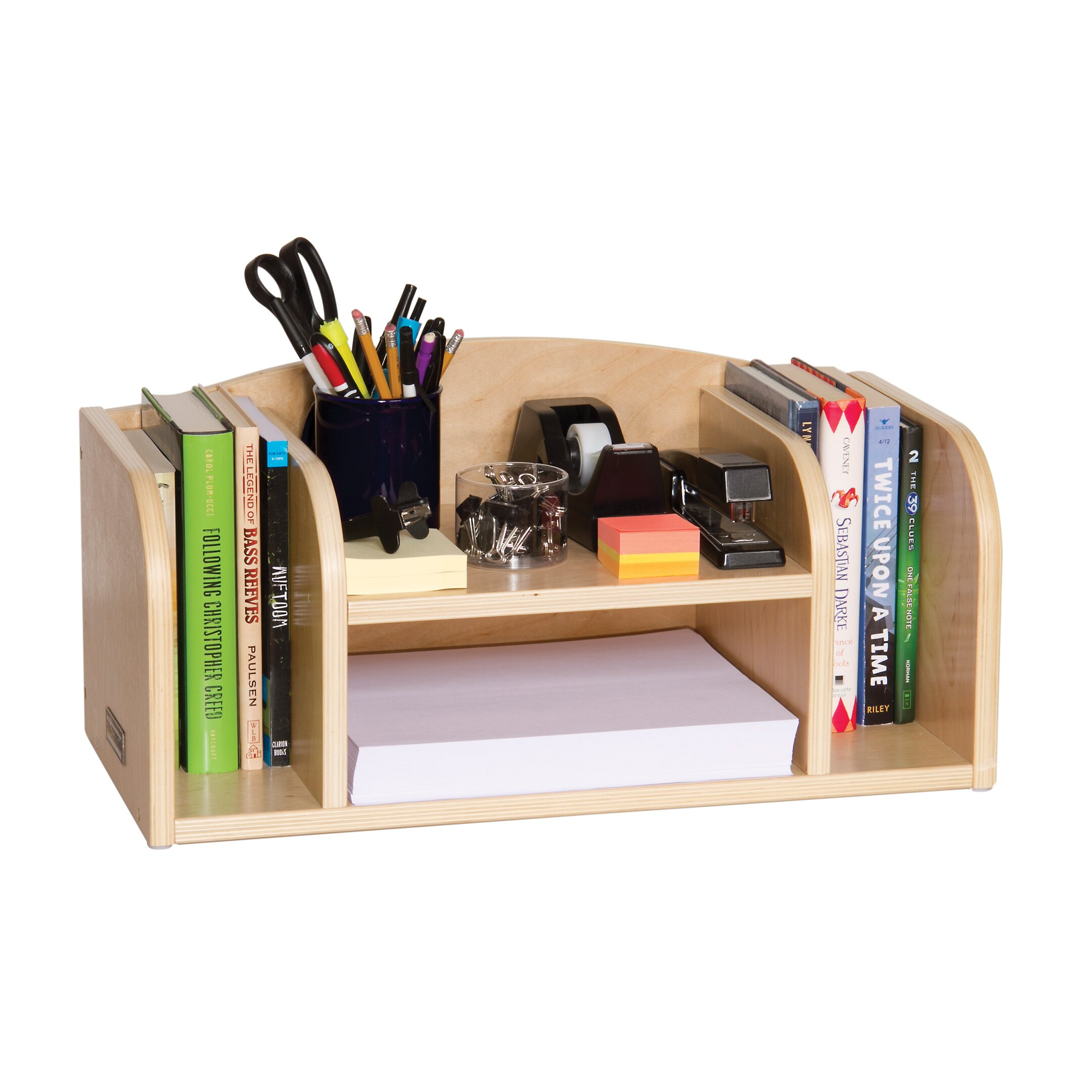 Guidecraft classroom furniture low desk organizer - Glass desk organizer ...