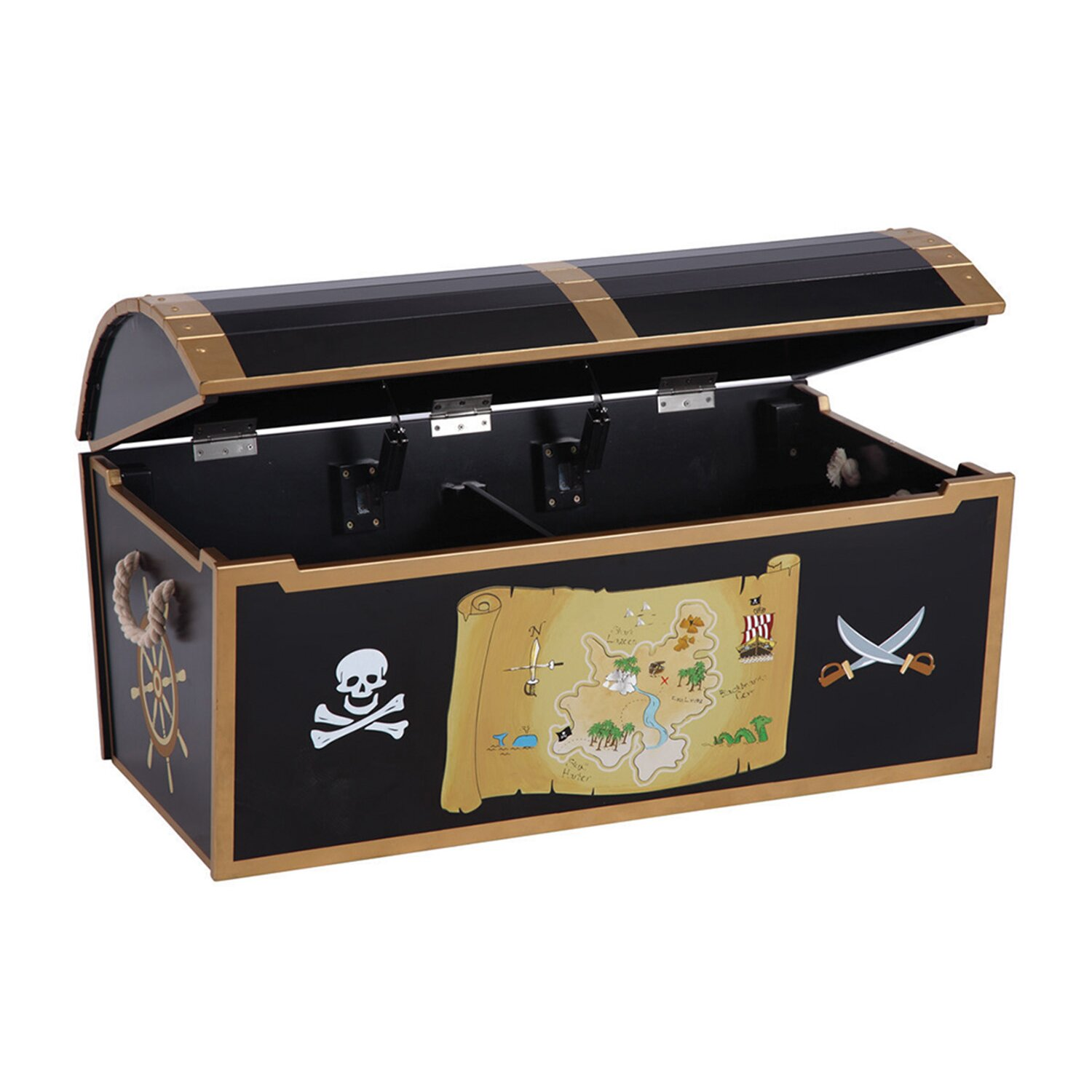 Guidecraft Personalized Pirate Treasure Chest & Reviews ...