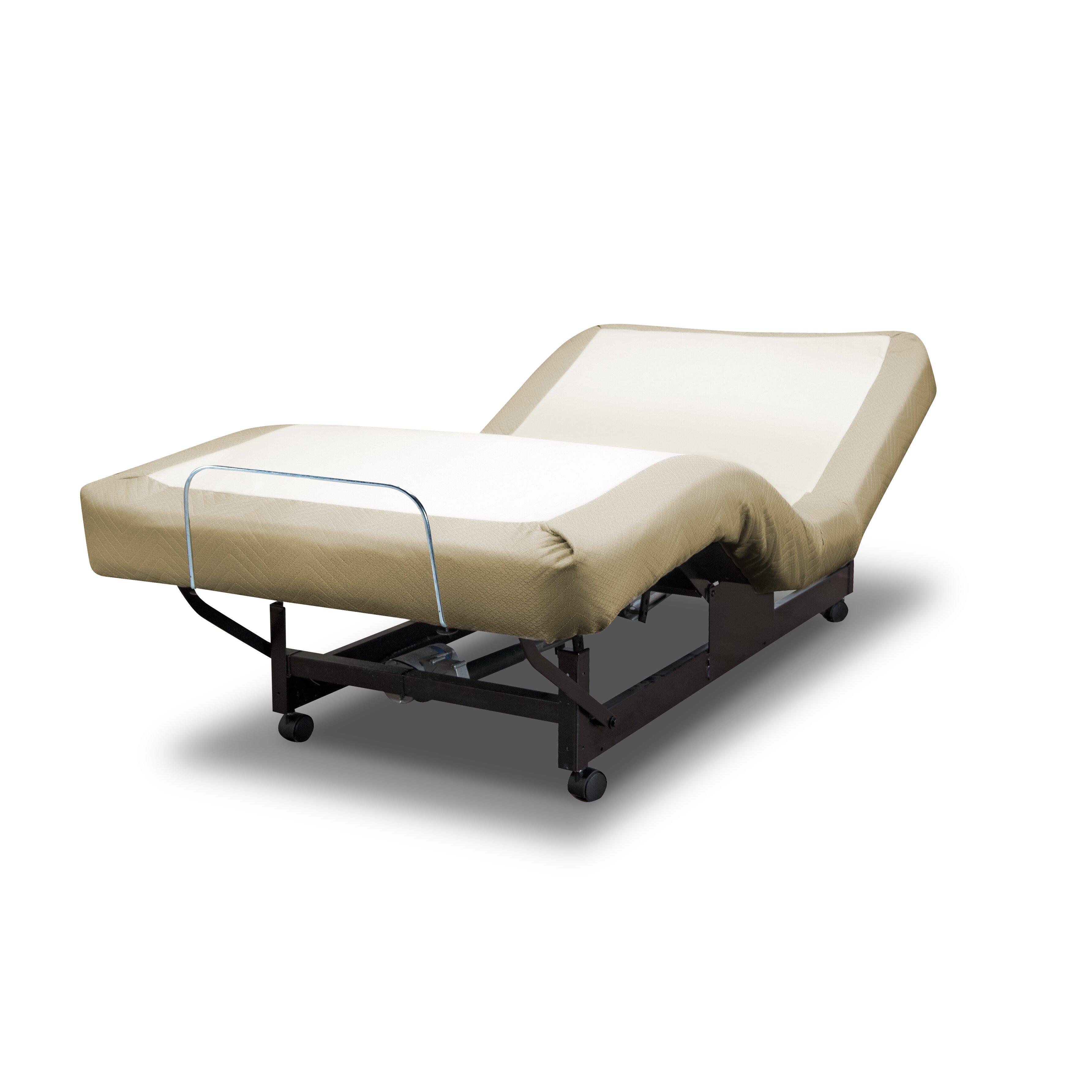 Med Lift Standard Adjustable Bed Amp Reviews Wayfair
