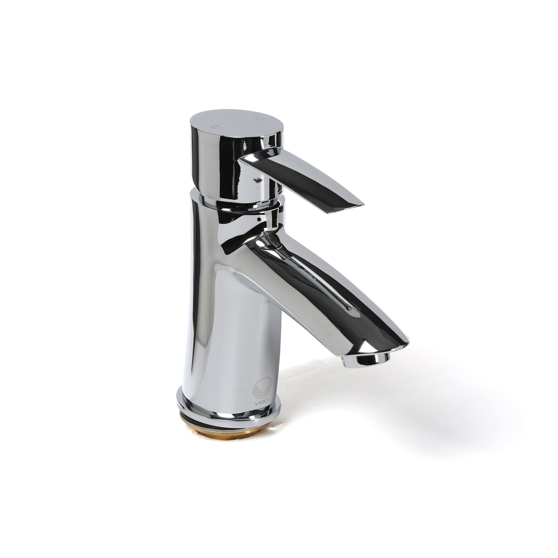 Single Lever Bathroom Faucets: Vigo Bova Single Lever Basin Bathroom Faucet & Reviews
