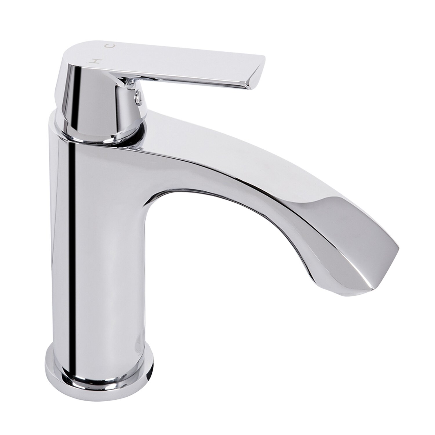 Single Lever Bathroom Faucets: Vigo Penela Single Lever Basin Bathroom Faucet & Reviews