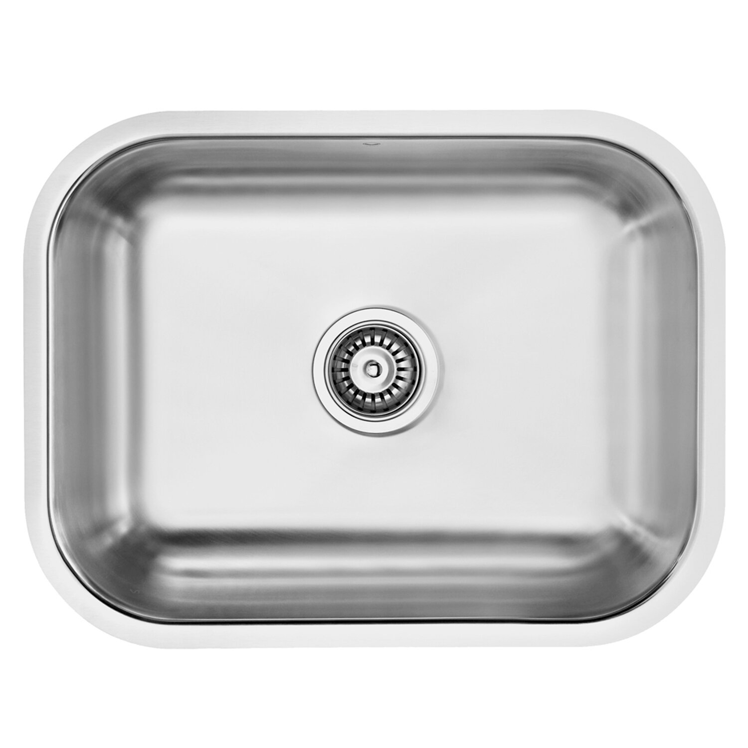 ... Single Bowl 18 Gauge Stainless Steel Kitchen Sink & Reviews Wayfair